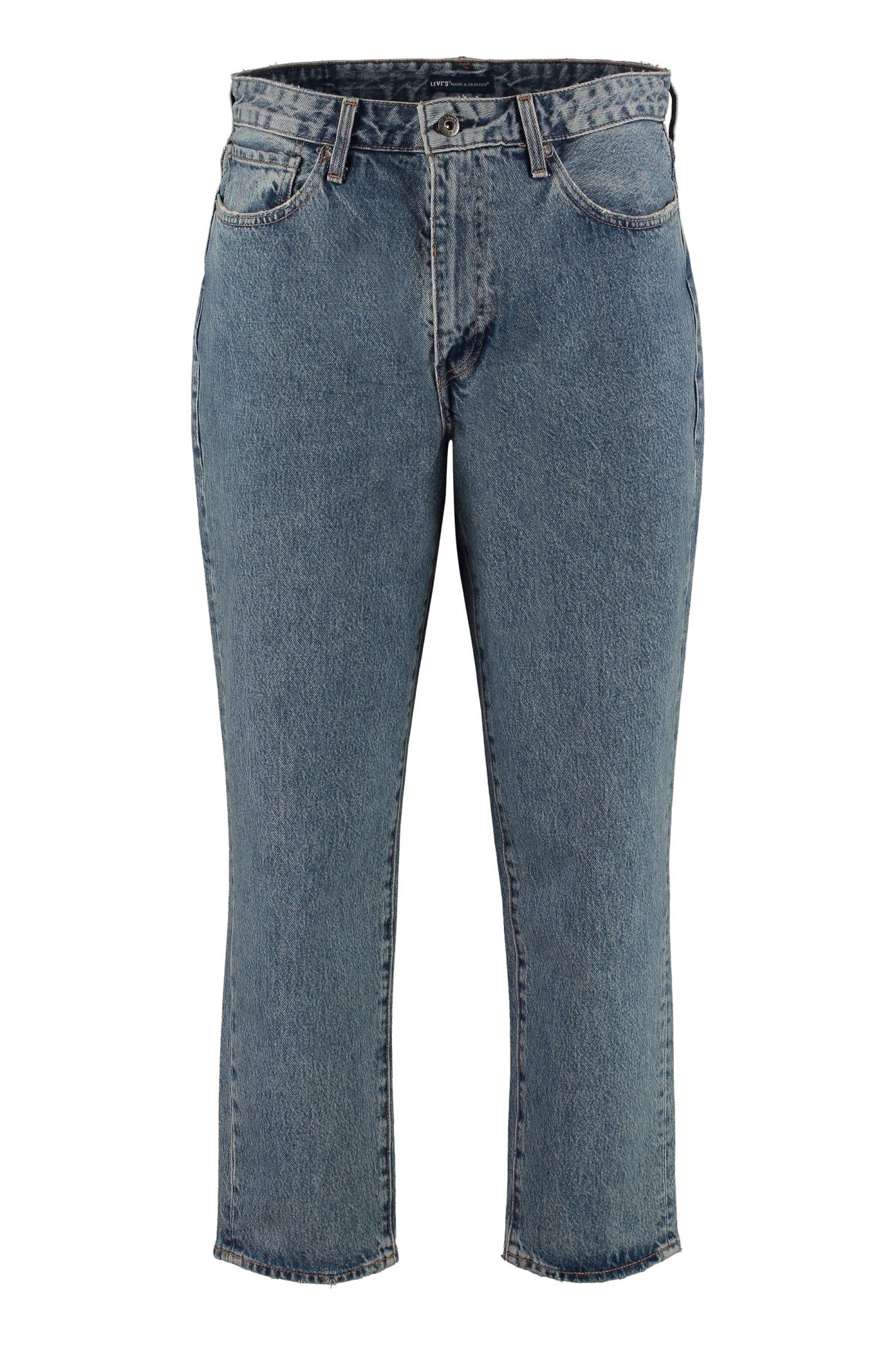 Levi's Draft Taper 5-pocket Jeans In Denim