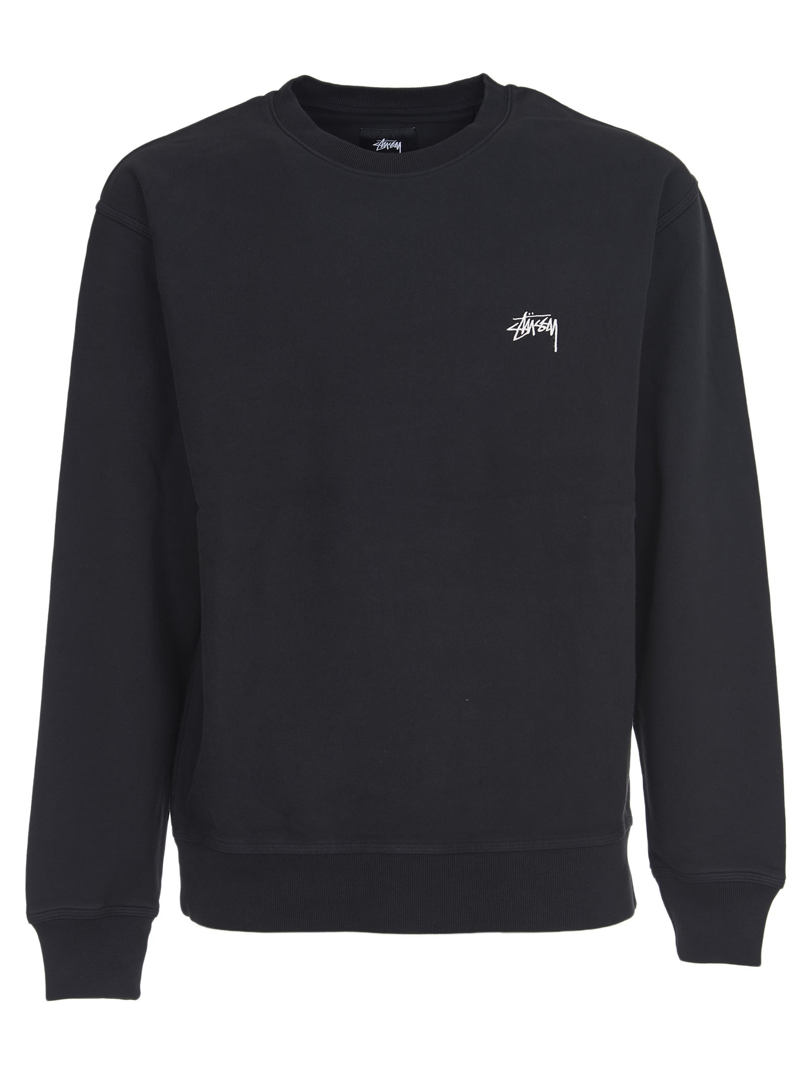 Stussy Black Basic Sweatshirt