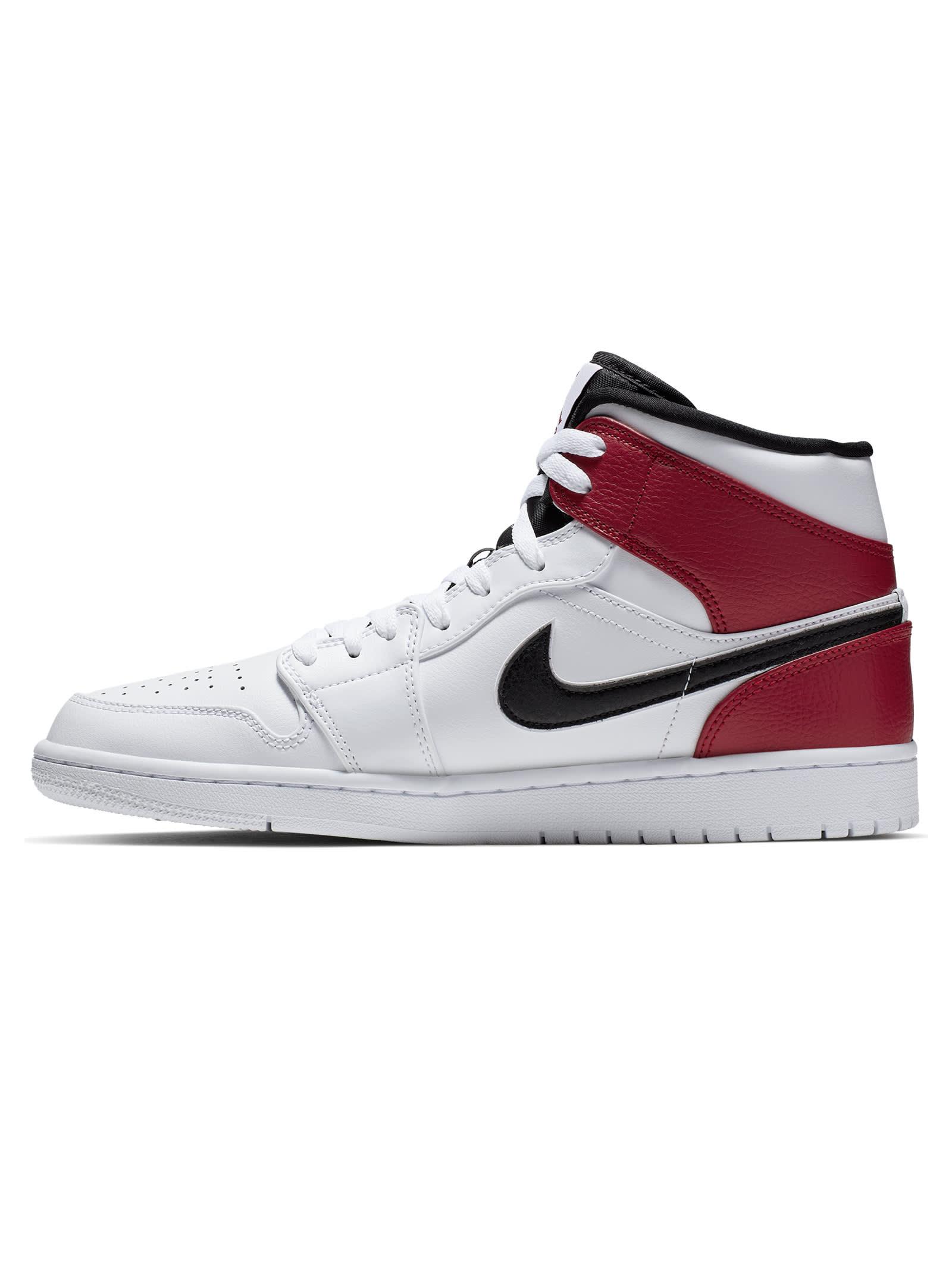 air jordan 1 bianco rosso