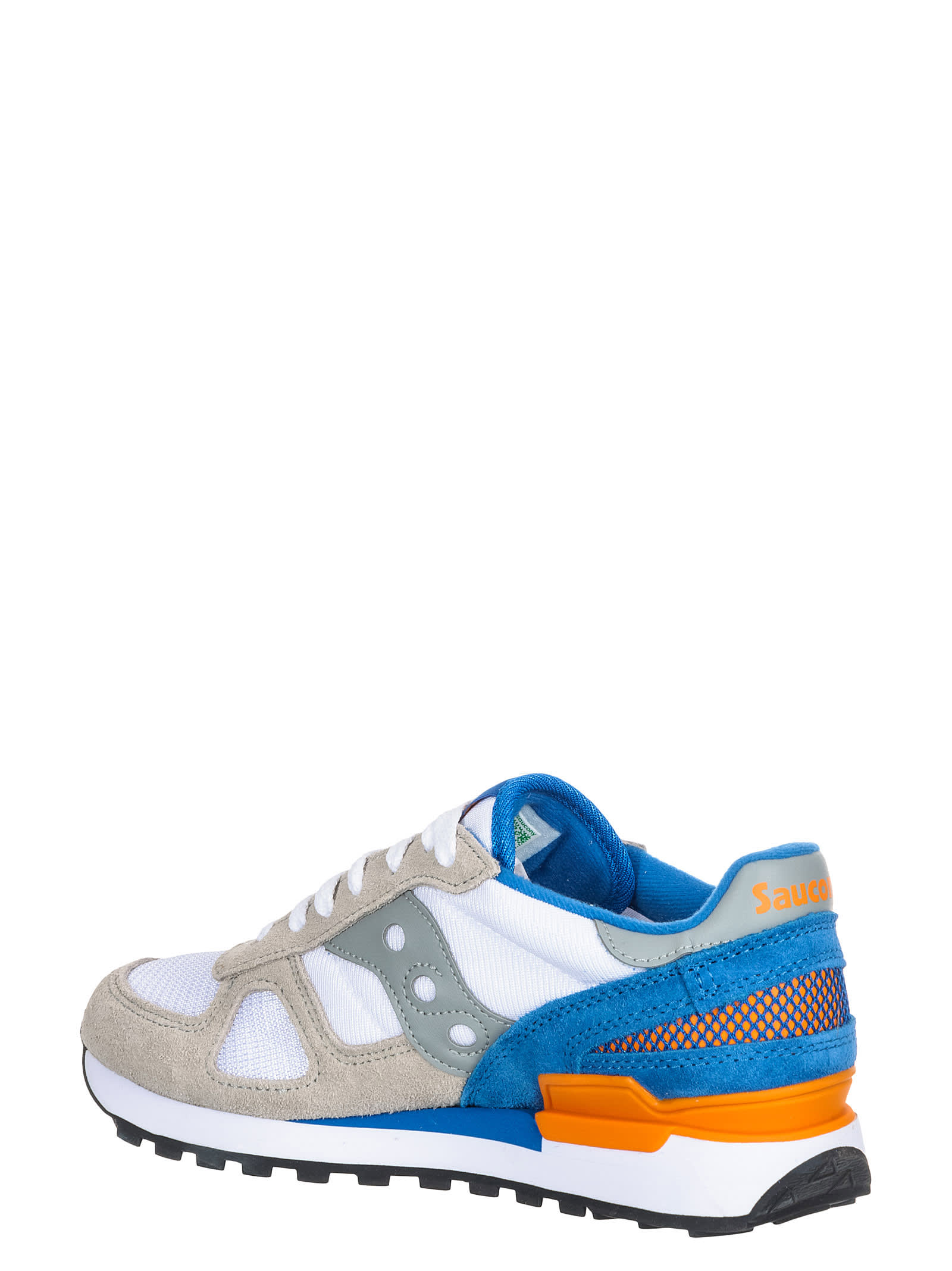 buy popular 67074 b1a8c Best price on the market at italist | Saucony Saucony Shadow White/blue  Sneakers