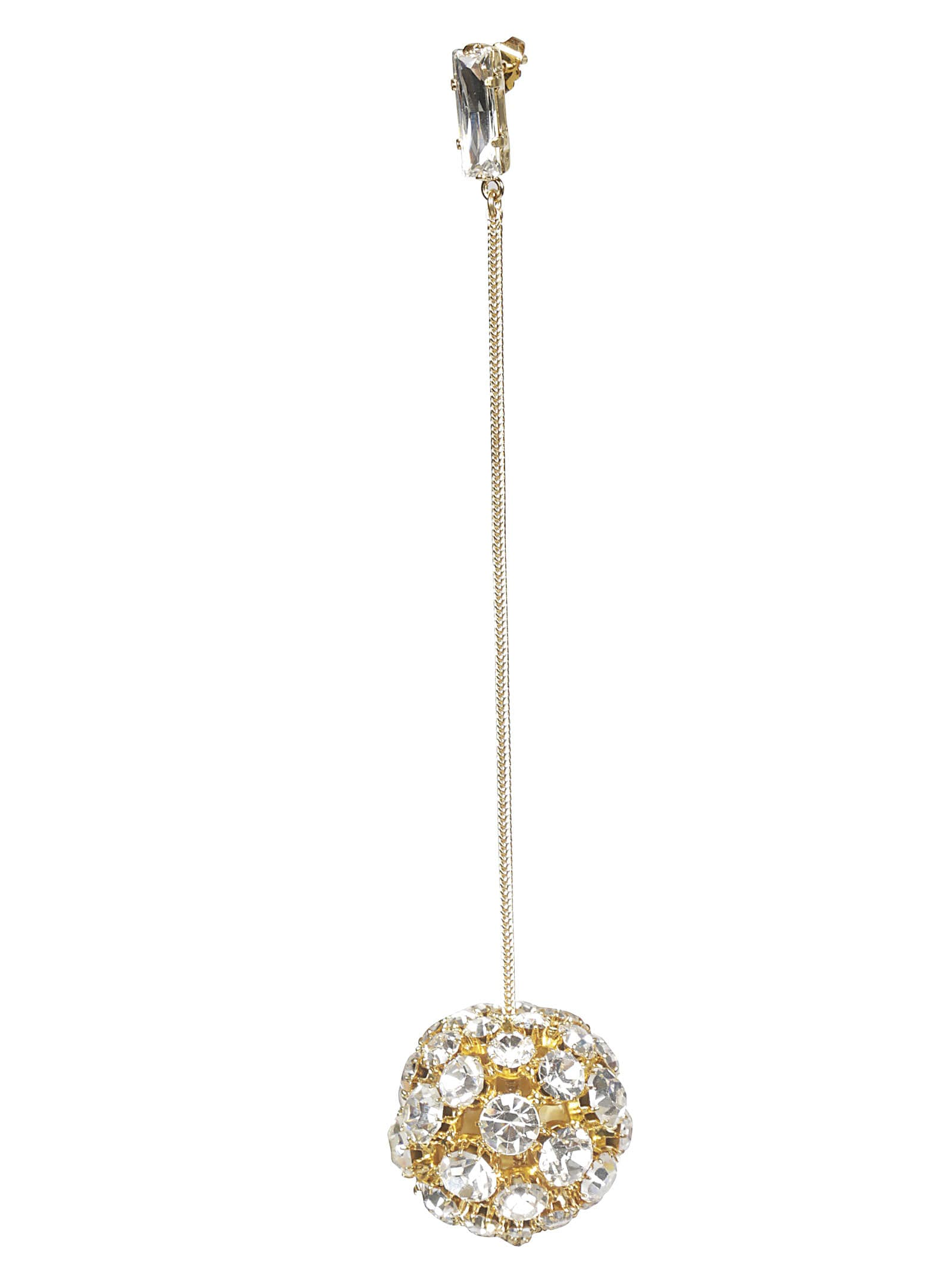 Alexandre Vauthier Crystal Embellished Earring
