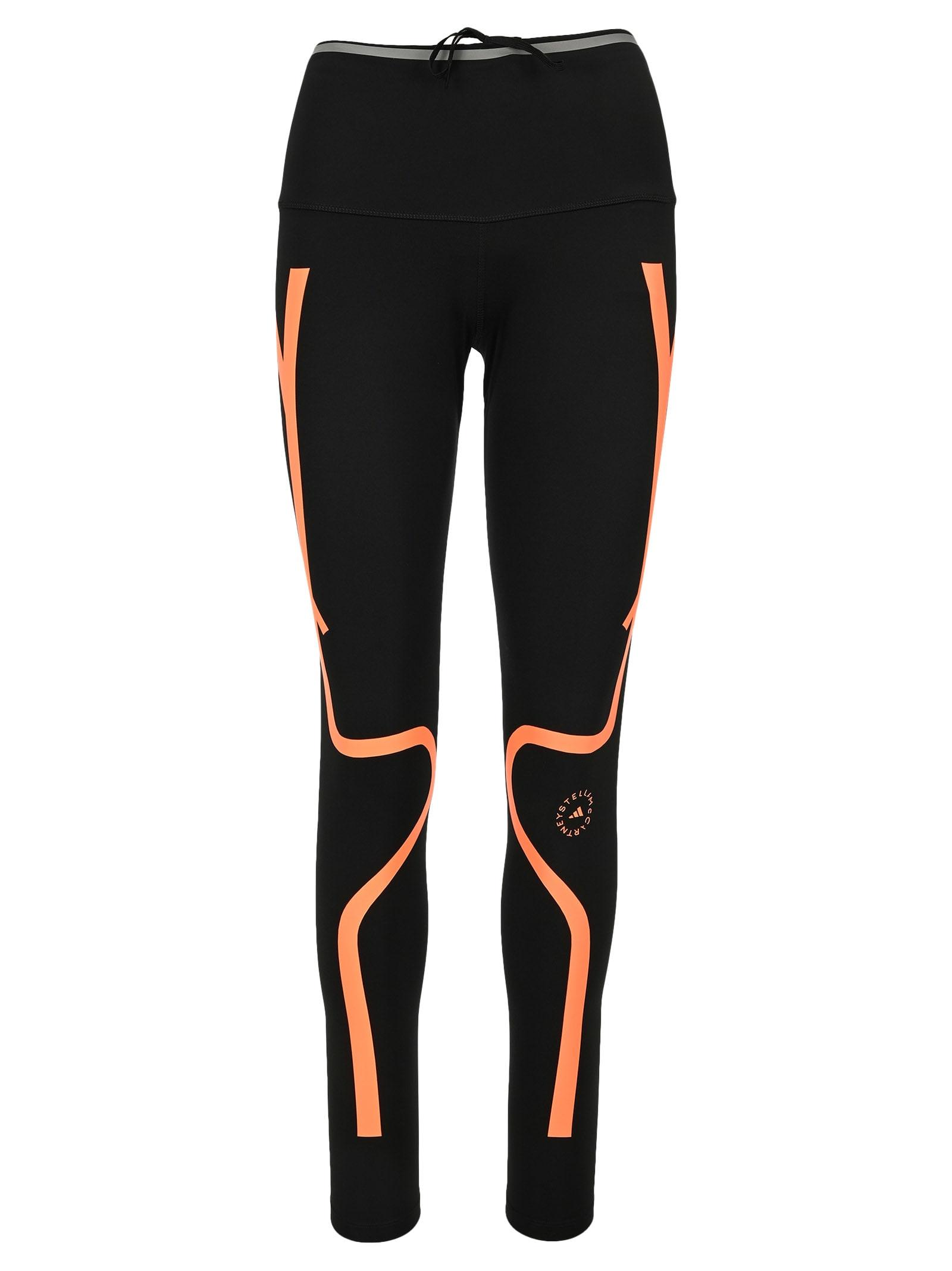 Adidas By Stella Mccartney Two-tone Performance Leggings