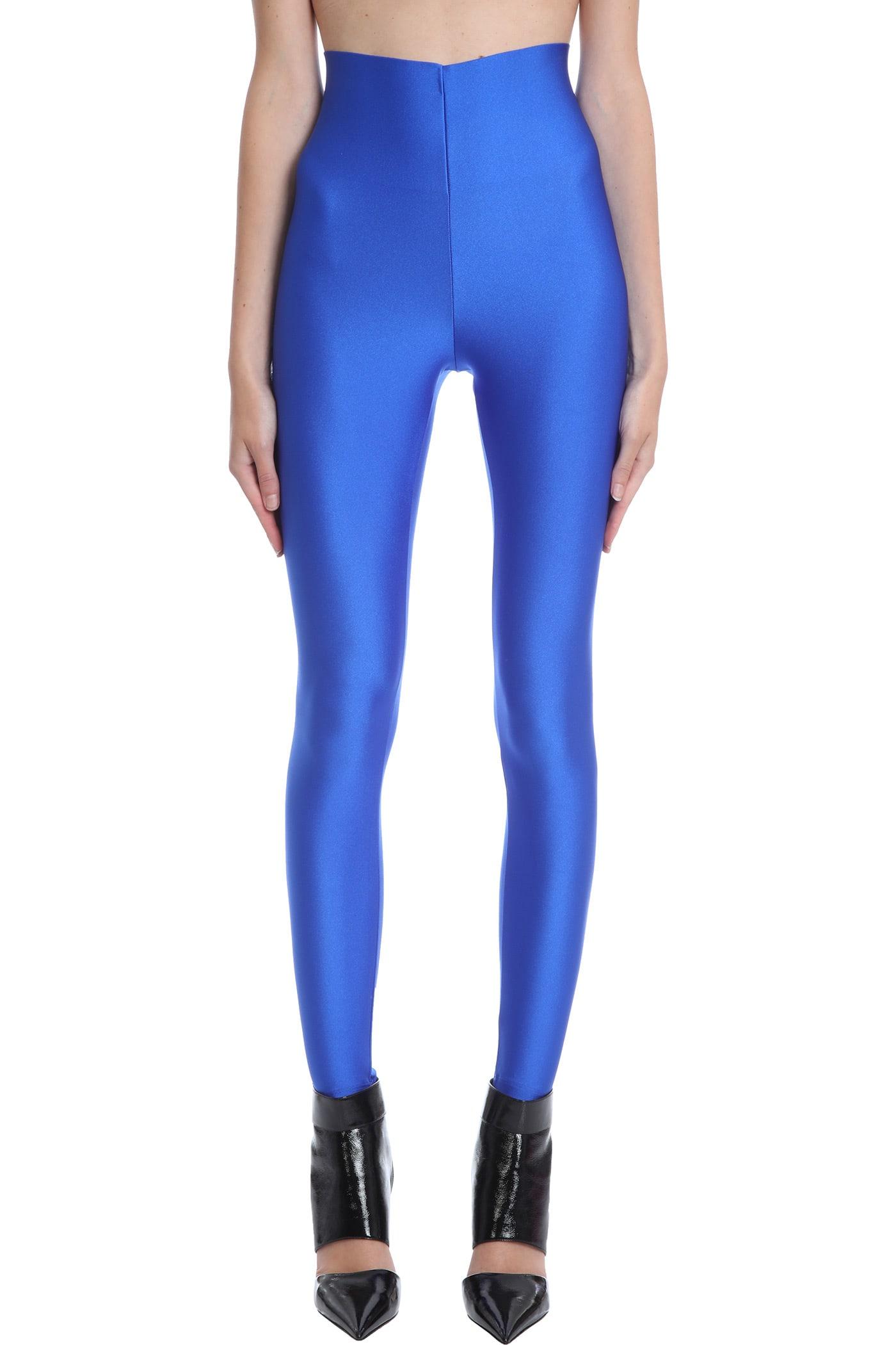 Holly Leggins In Blue Polyamide