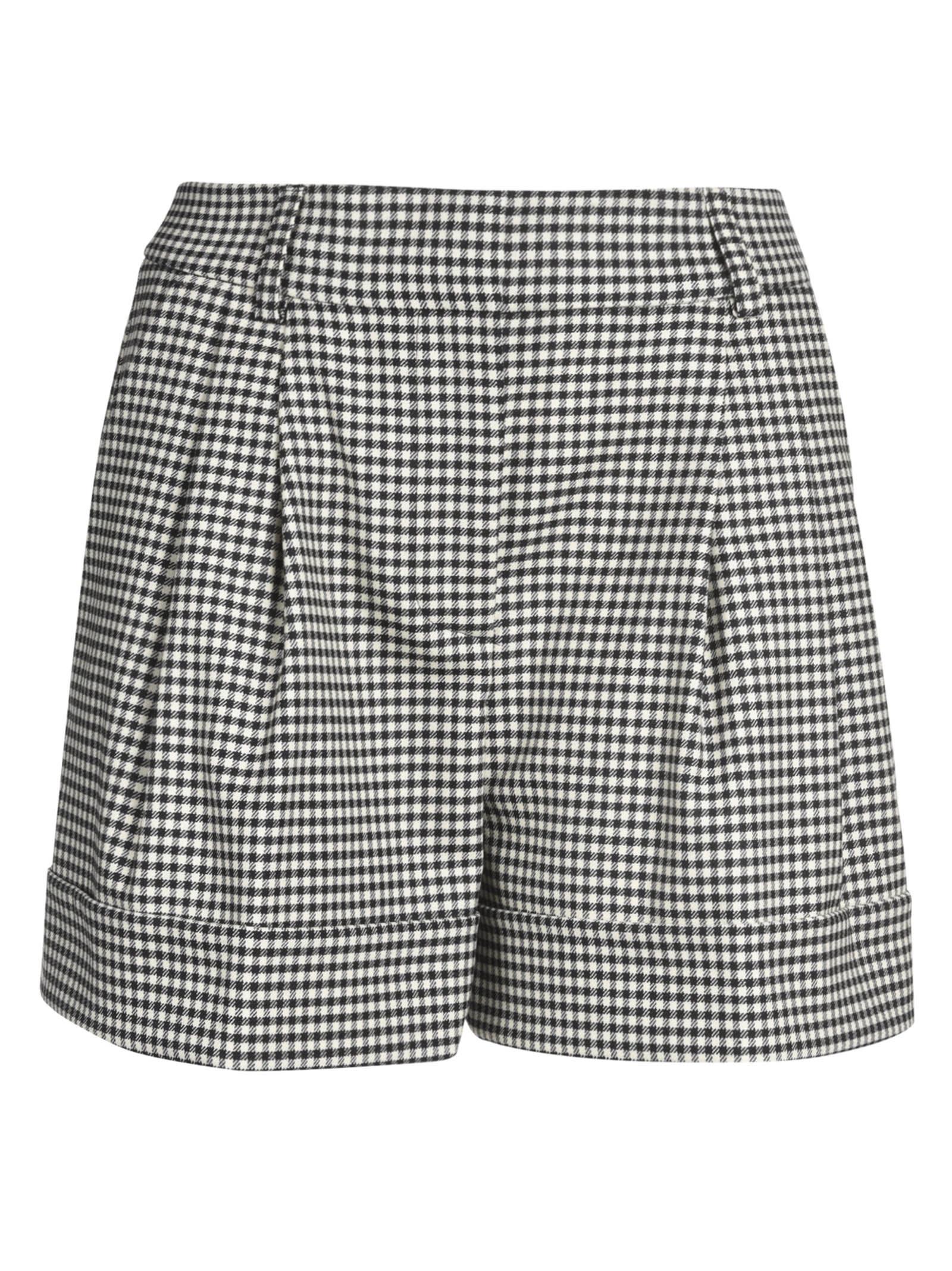 Parosh Checked Shorts