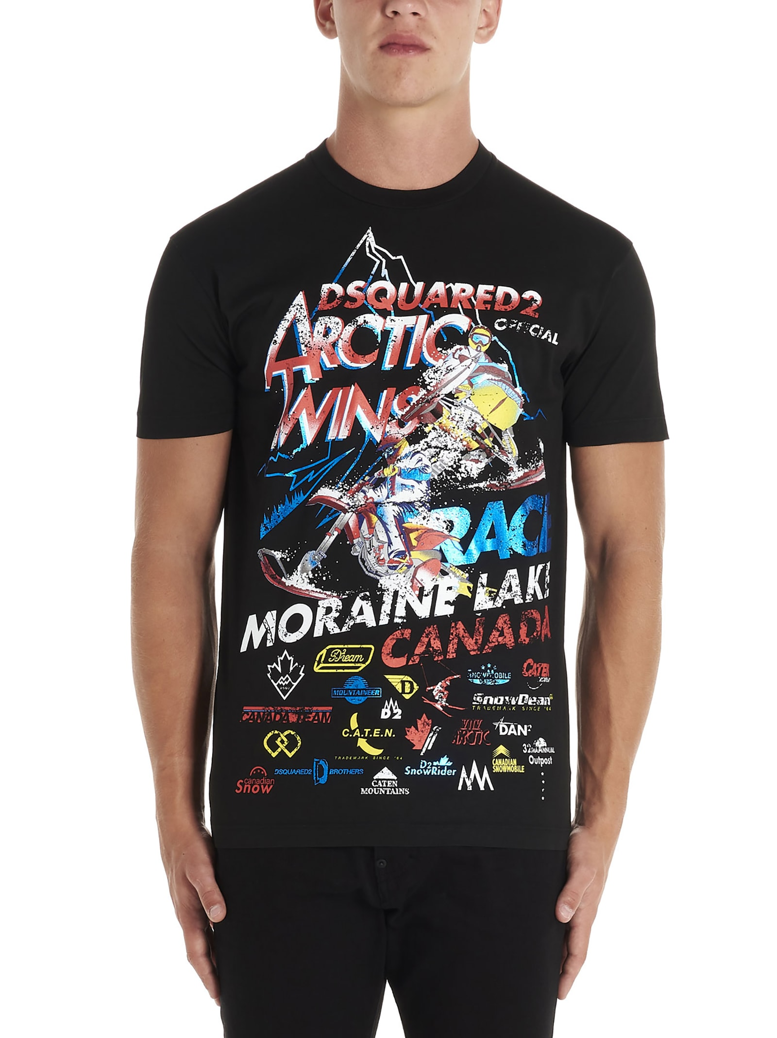 Dsquared2 morain Lake Twins T-shirt