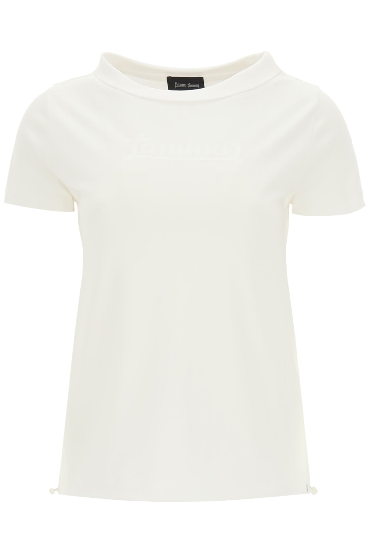 Jersey And Gore-tex T-shirt With Logo