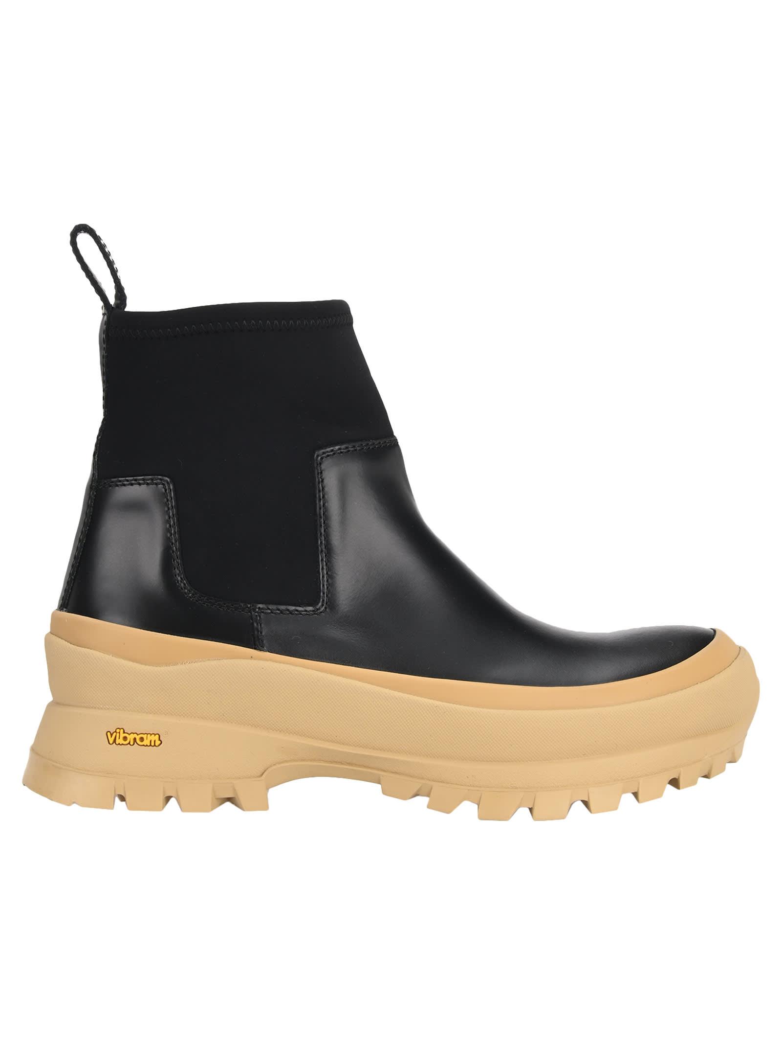 Jil Sander Vibram Sole Boots