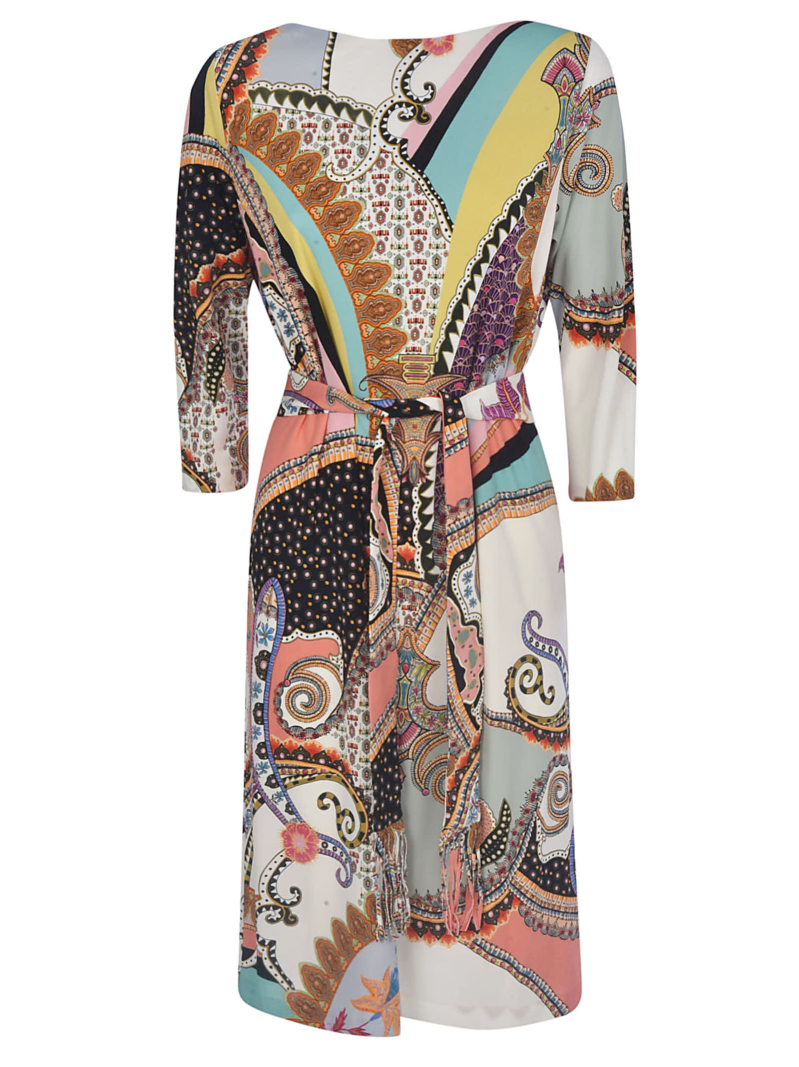 Buy Etro Belted Fantasia Dress online, shop Etro with free shipping