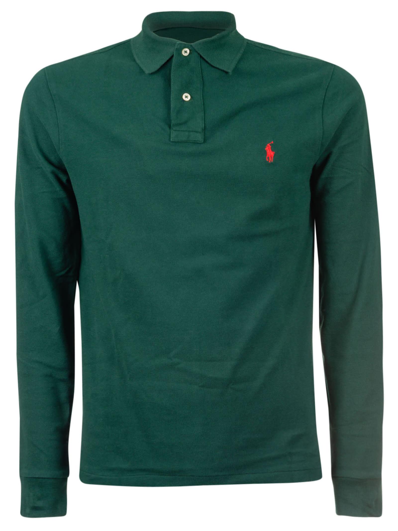 4efbce0a Ralph Lauren Long-sleeved Polo Shirt