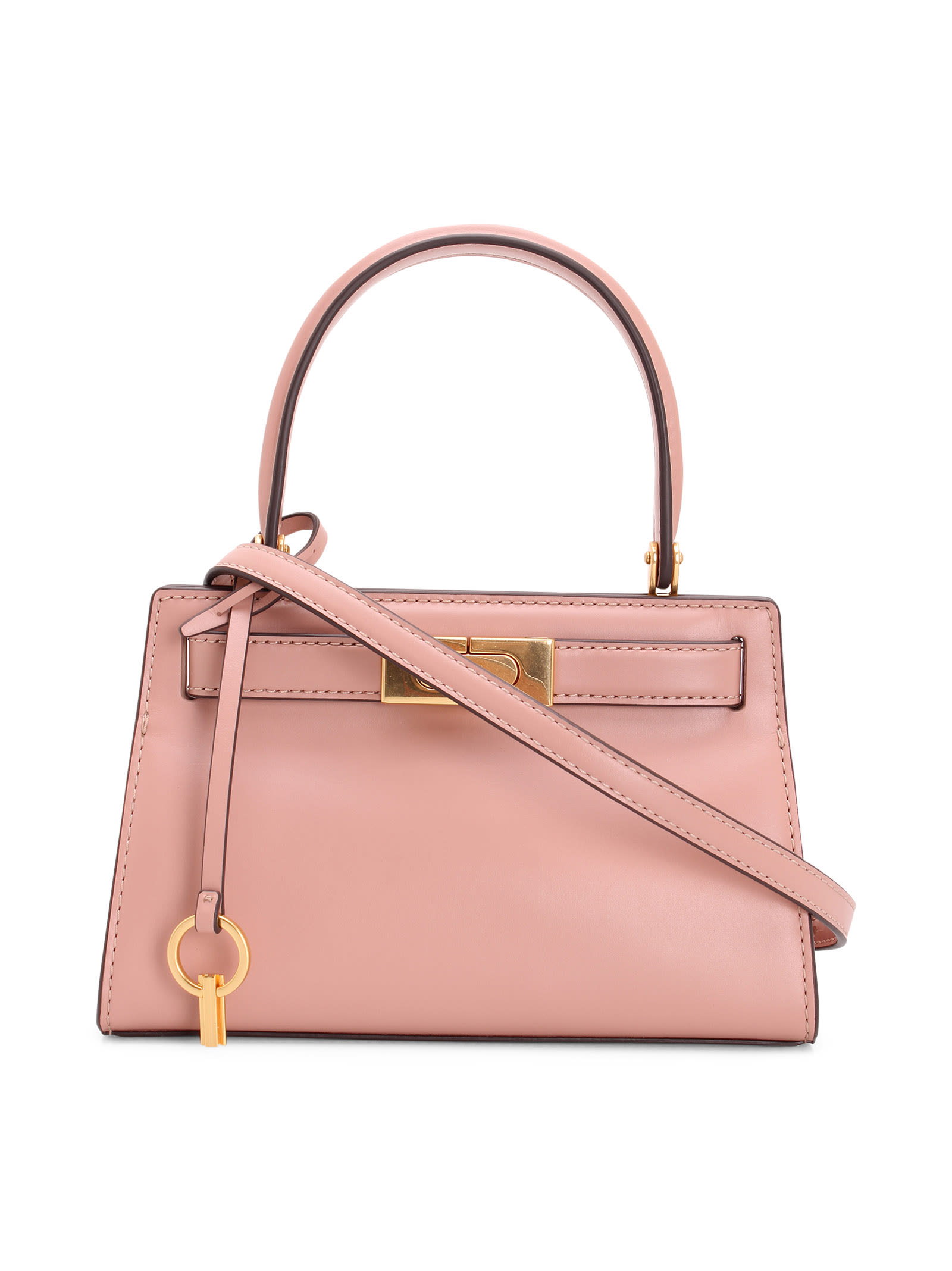 Tory Burch LEE RADZIWILL LEATHER TOTE BAG