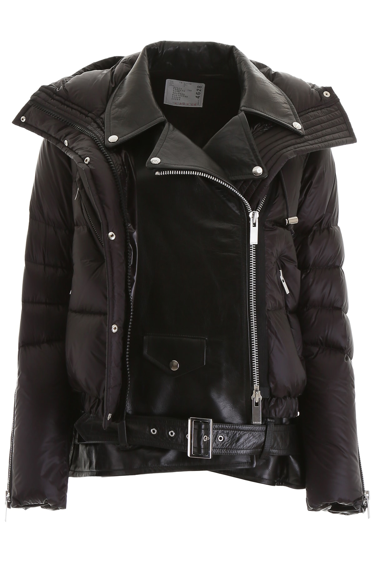 Sacai Double Layer Puffer Jacket