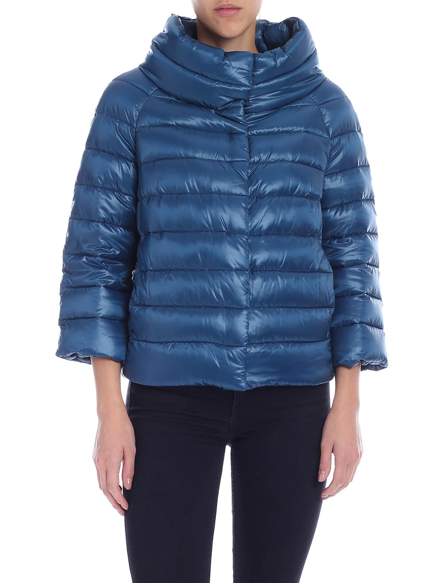 Herno Sofia 3/4 Sleeved Down Jacket