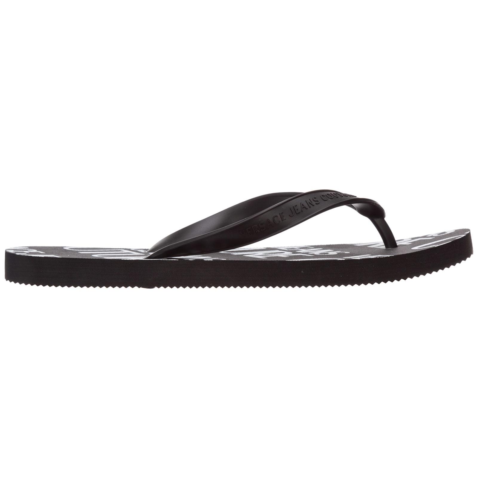 Versace Jeans Couture Puro Lino Flip Flops