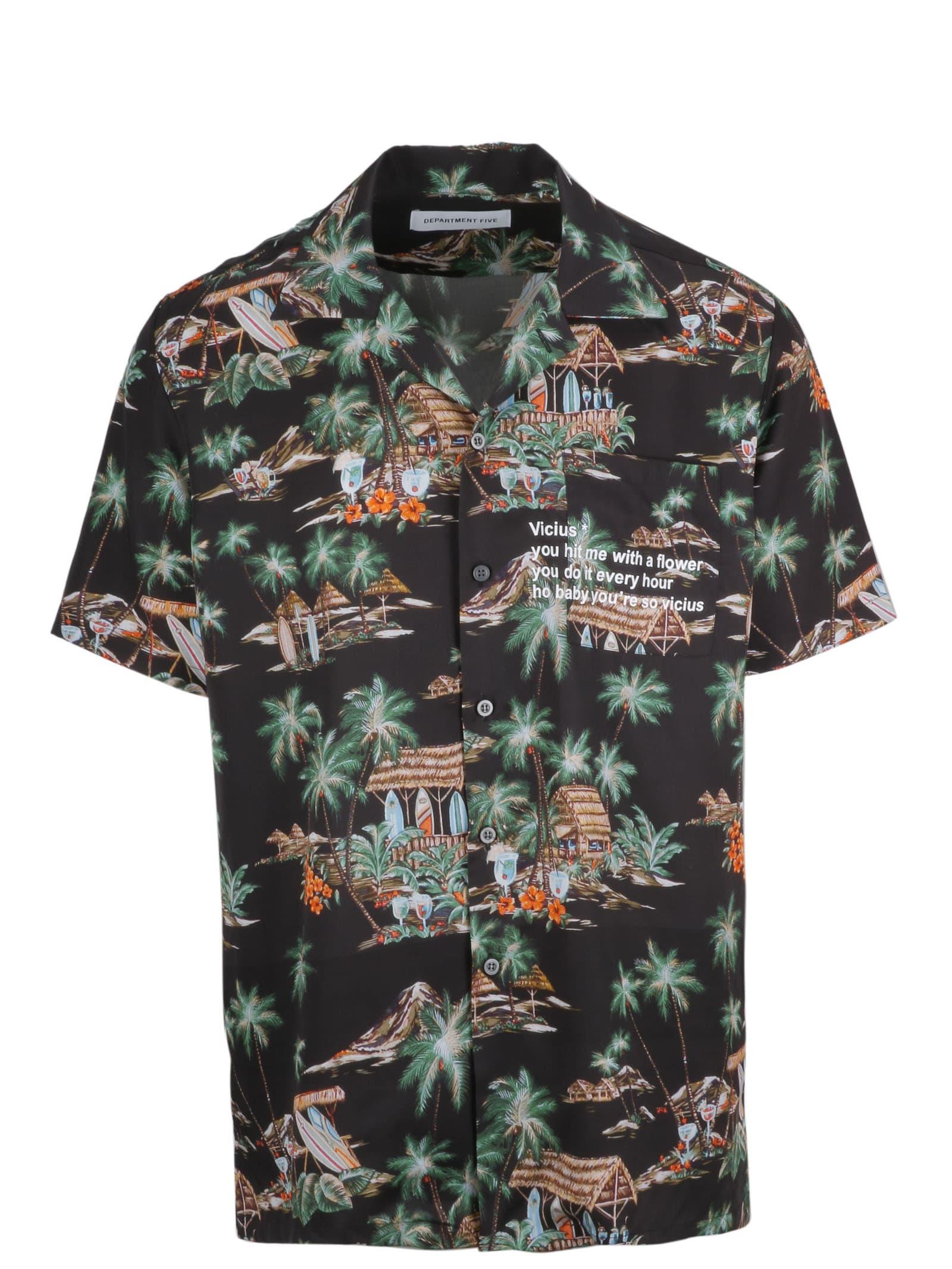 Department 5 Printed Shirt