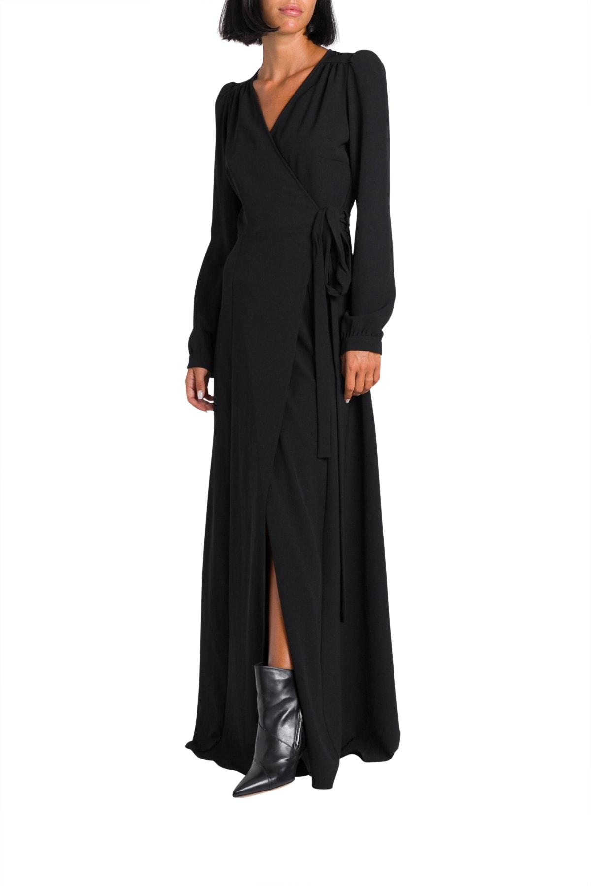 Parosh Long Wrap Dress