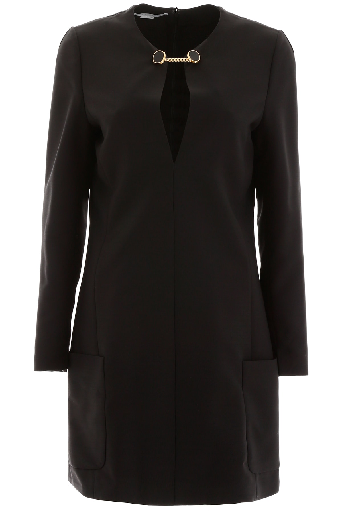 Buy Stella McCartney Crepe Mini Dress online, shop Stella McCartney with free shipping