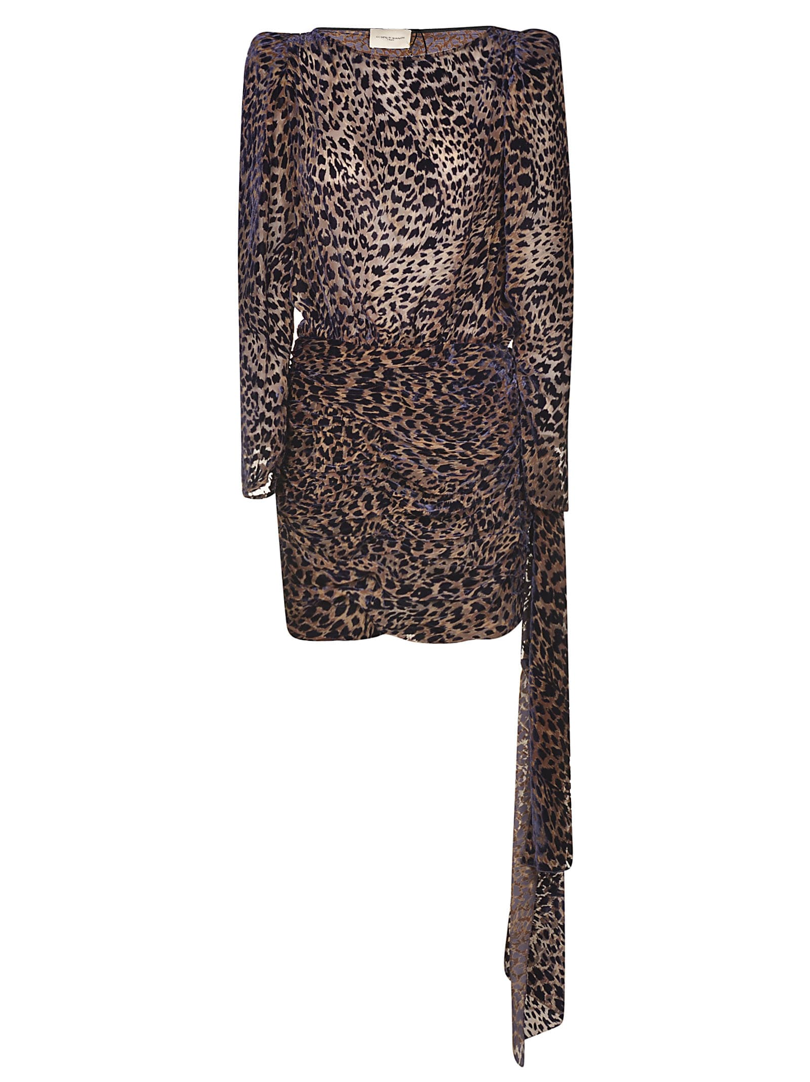 Giuseppe di Morabito Animal Print Dress