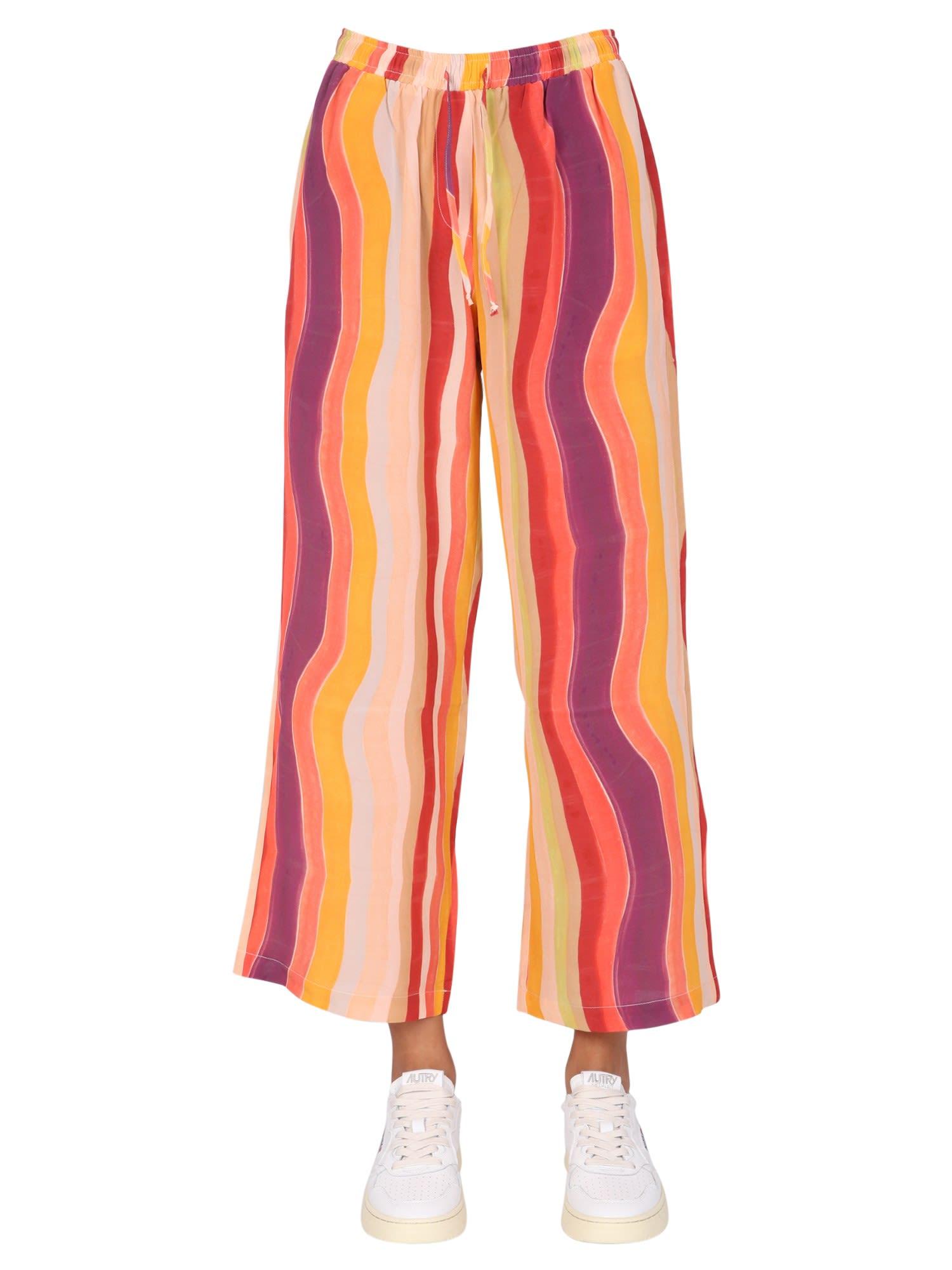 Wavy Pajamas Trousers