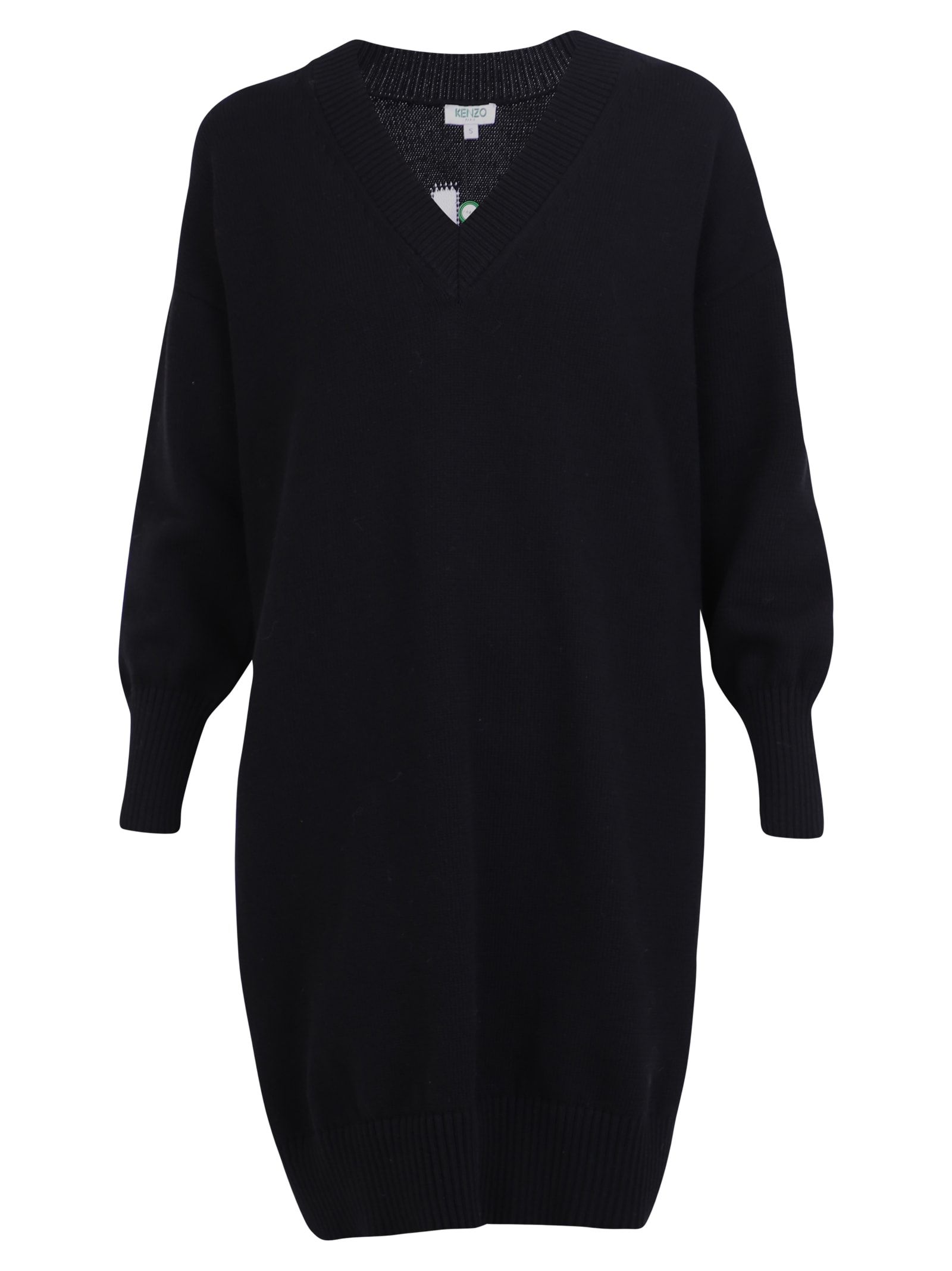 Kenzo Branded Sweater Dress