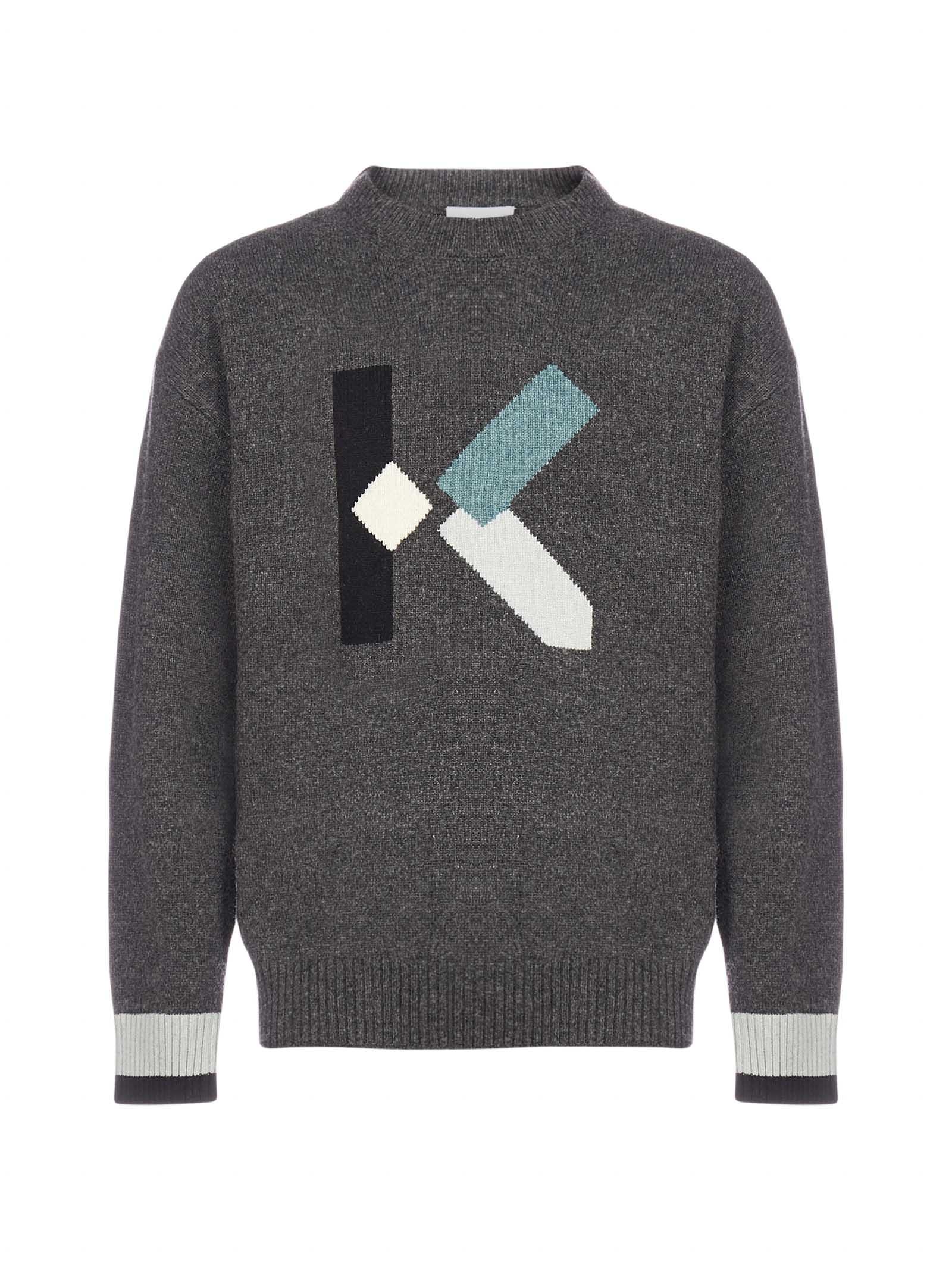 Kenzo K-logo Wool-blend Sweater