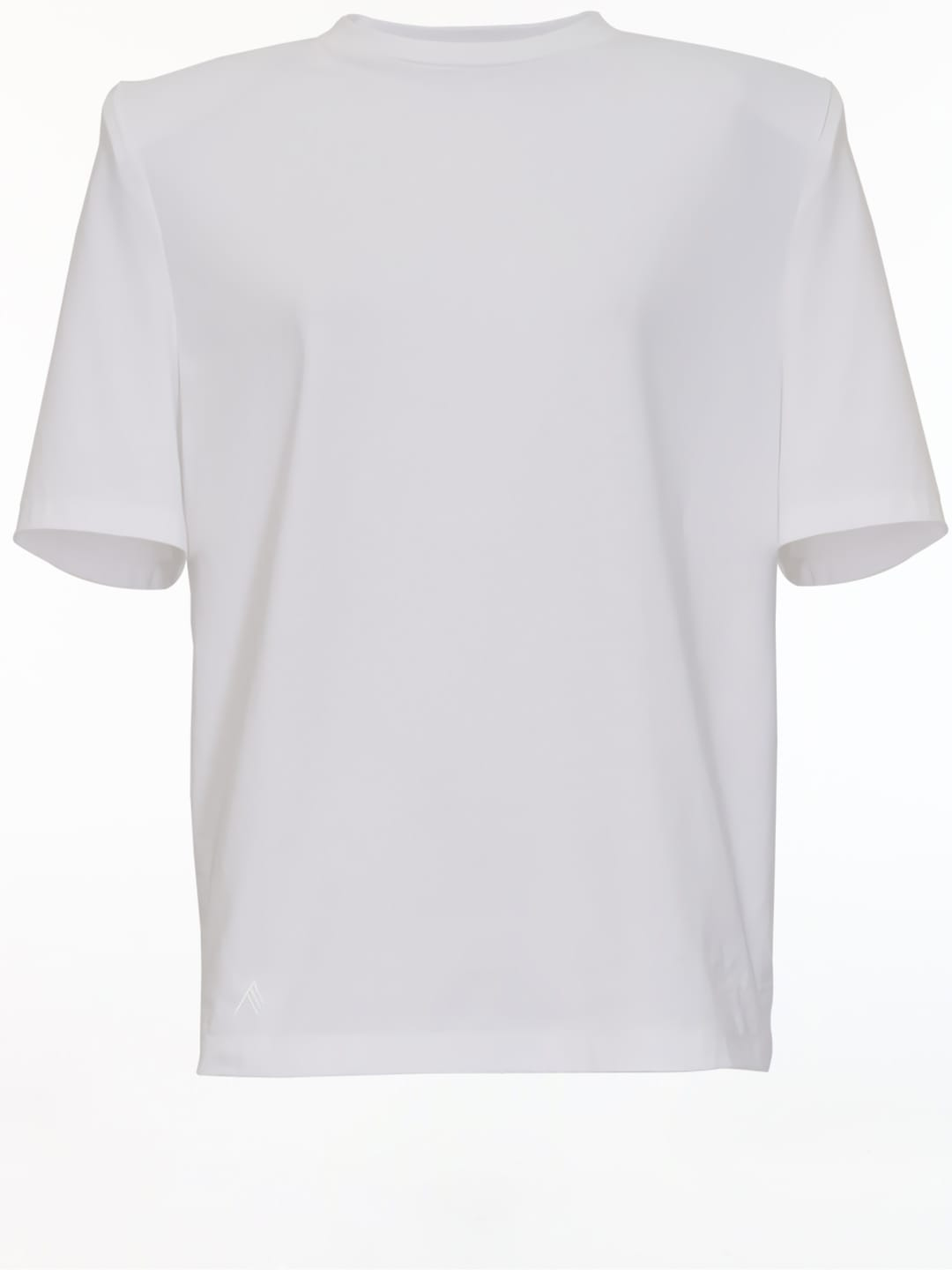 Attico T-shirts BELLA WHITE T-SHIRT