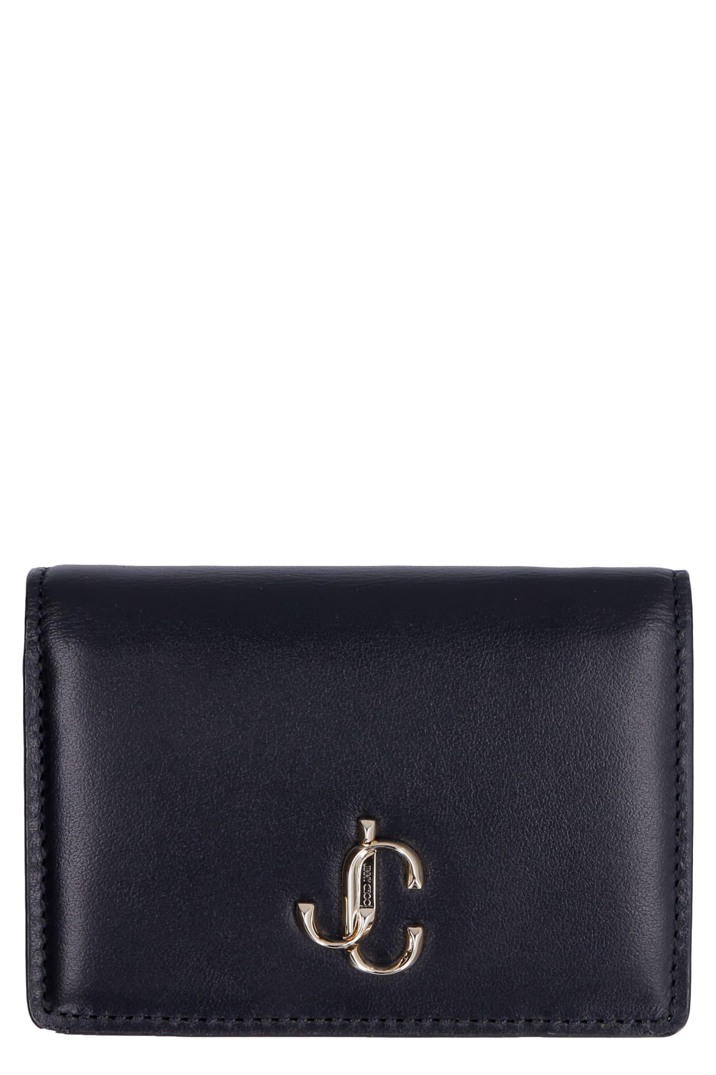 Jimmy Choo Myah Leather Wallet