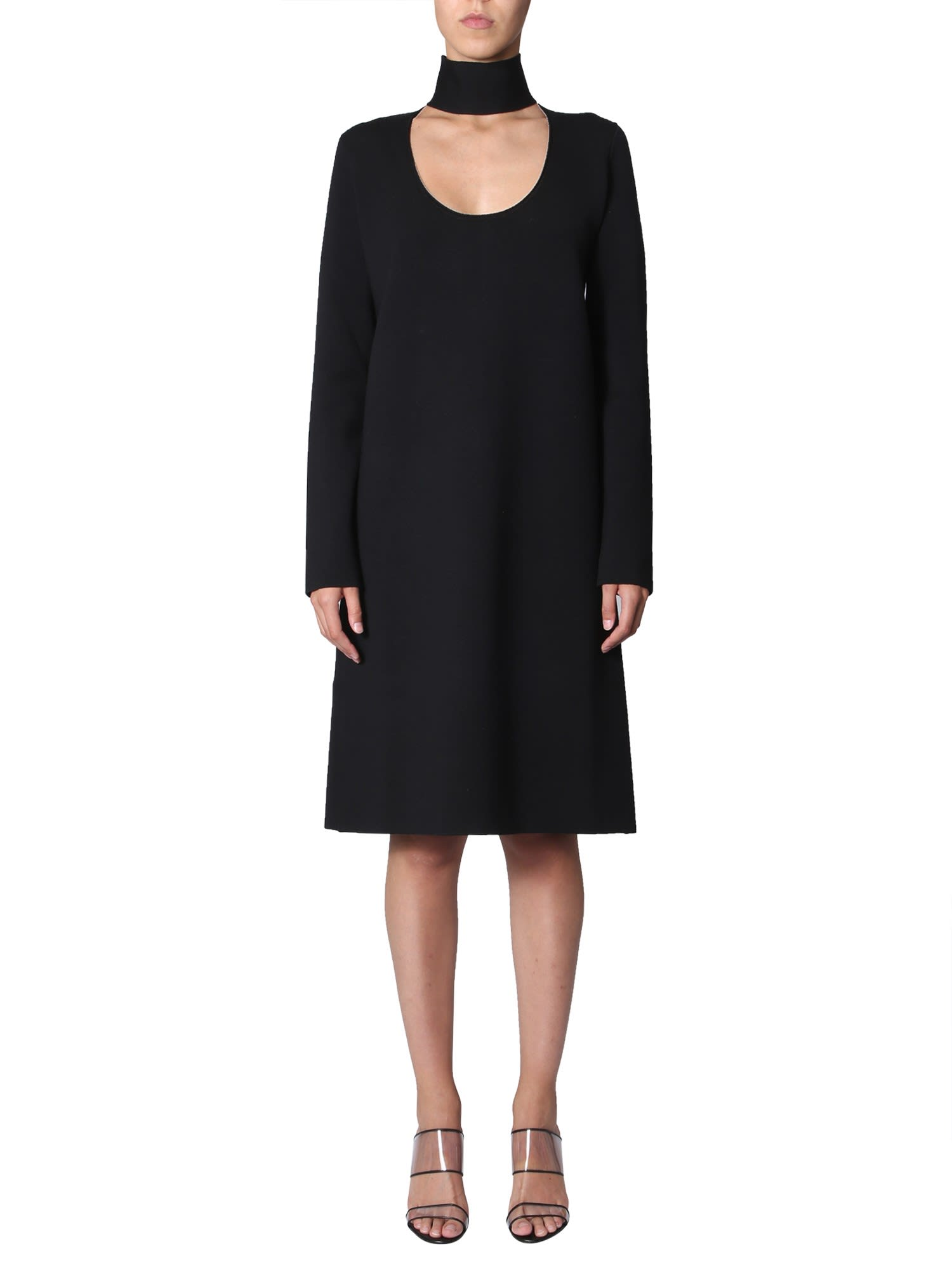 Buy Bottega Veneta High Neck Dress online, shop Bottega Veneta with free shipping