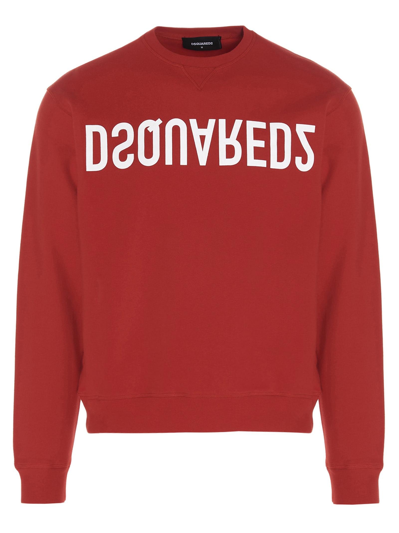 Dsquared2 logo Reverse Dsq2 Sweater