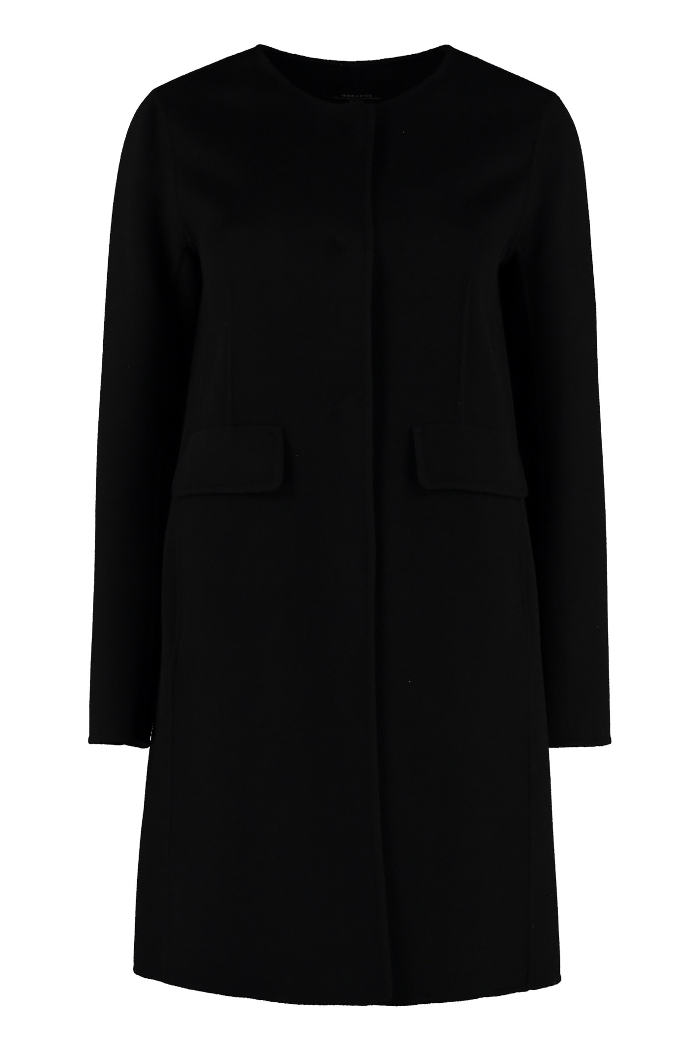 Weekend Max Mara Guinea Virgin Wool Coat