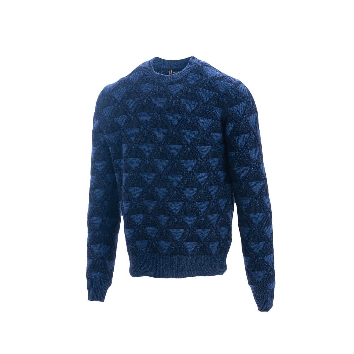 Boss Cotton And Wool Sweater