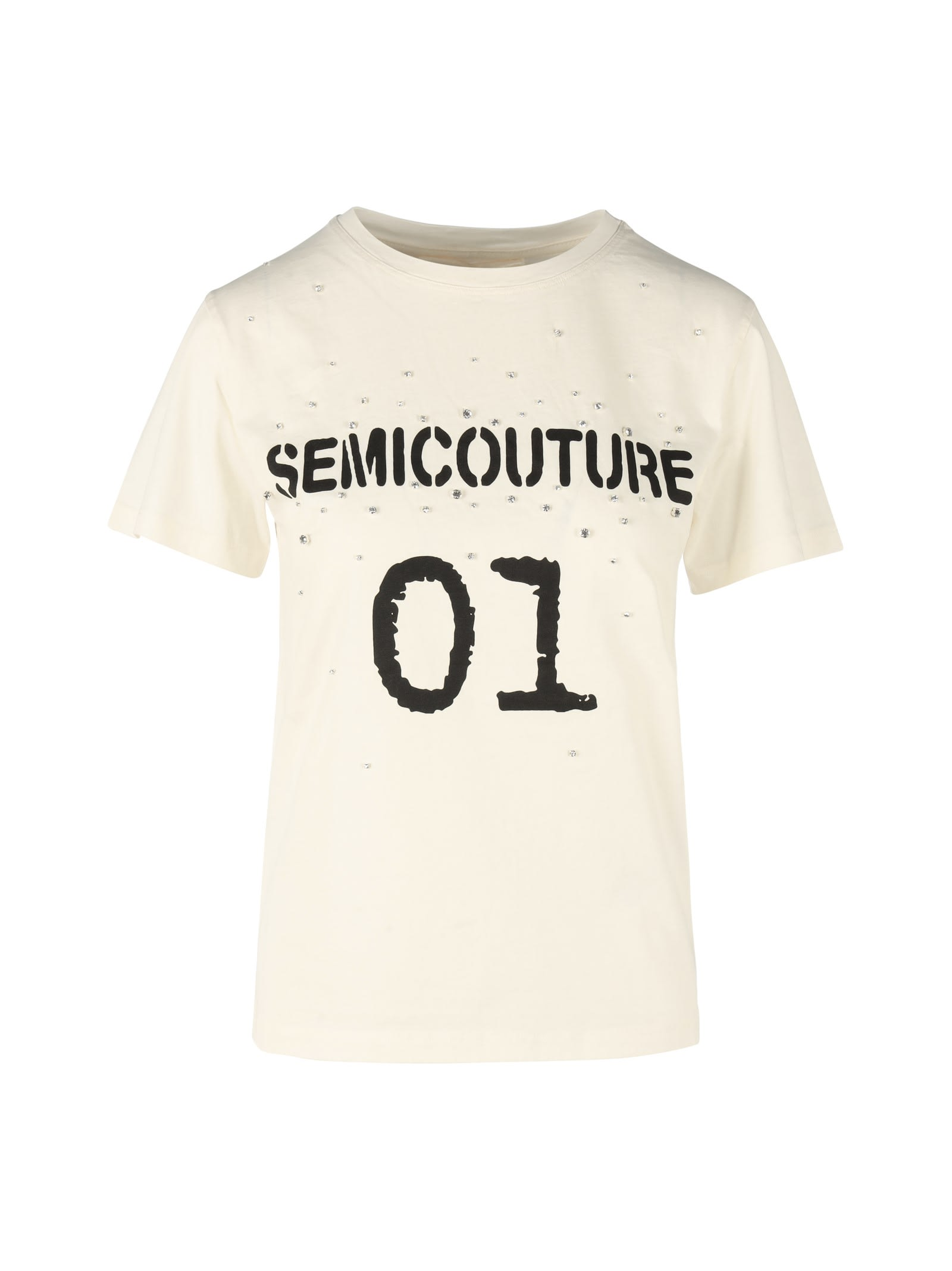 Semicouture CRIYSTAL T-SHIRT