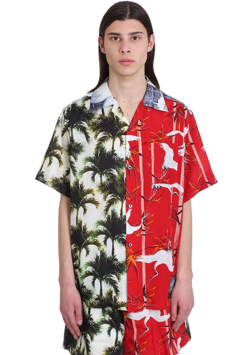 Buscemi Shirt In Multicolor Cotton