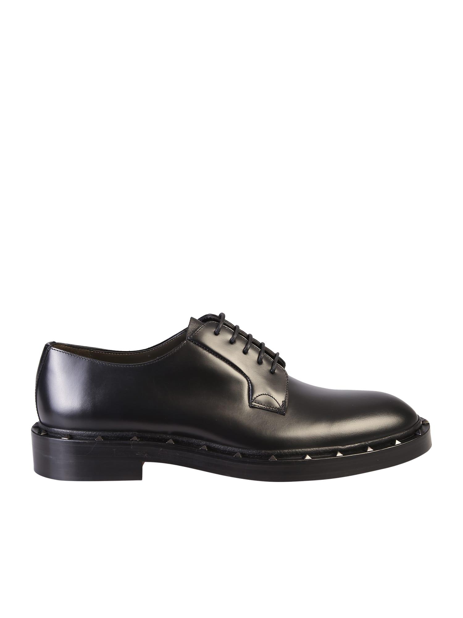 Valentino Garavani Studded Derby Shoes