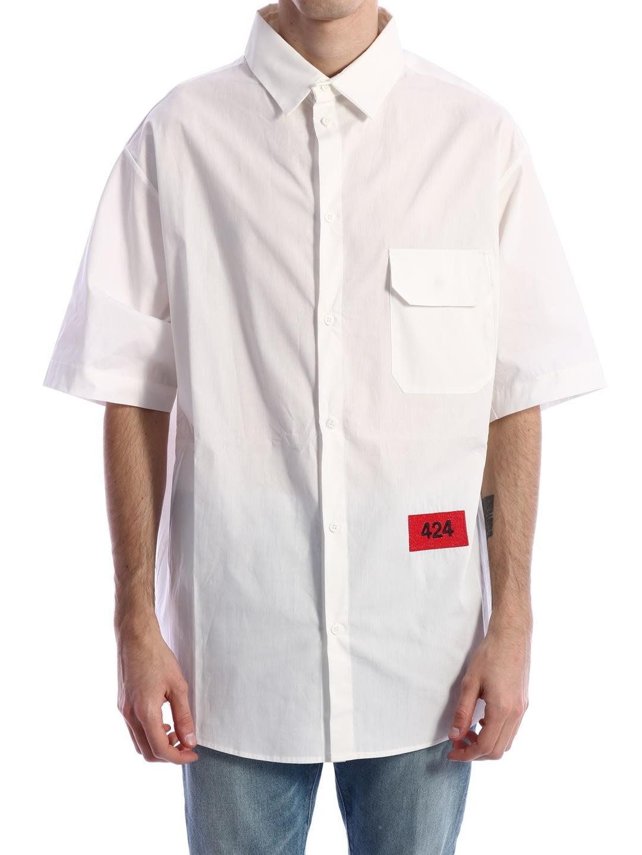 Logo Shirt White