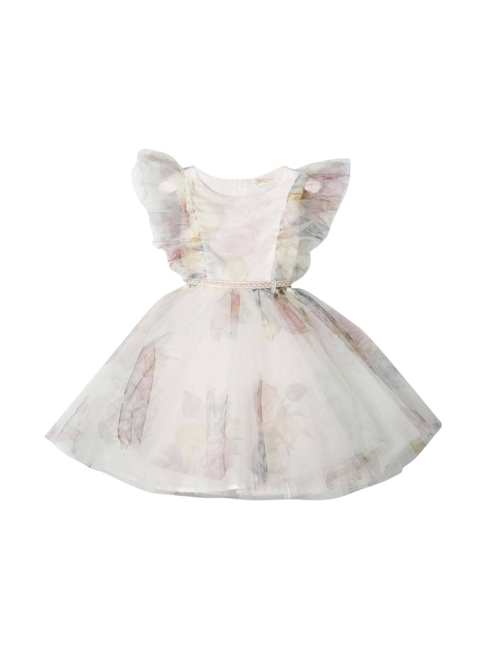 Buy Monnalisa Dress online, shop Monnalisa with free shipping