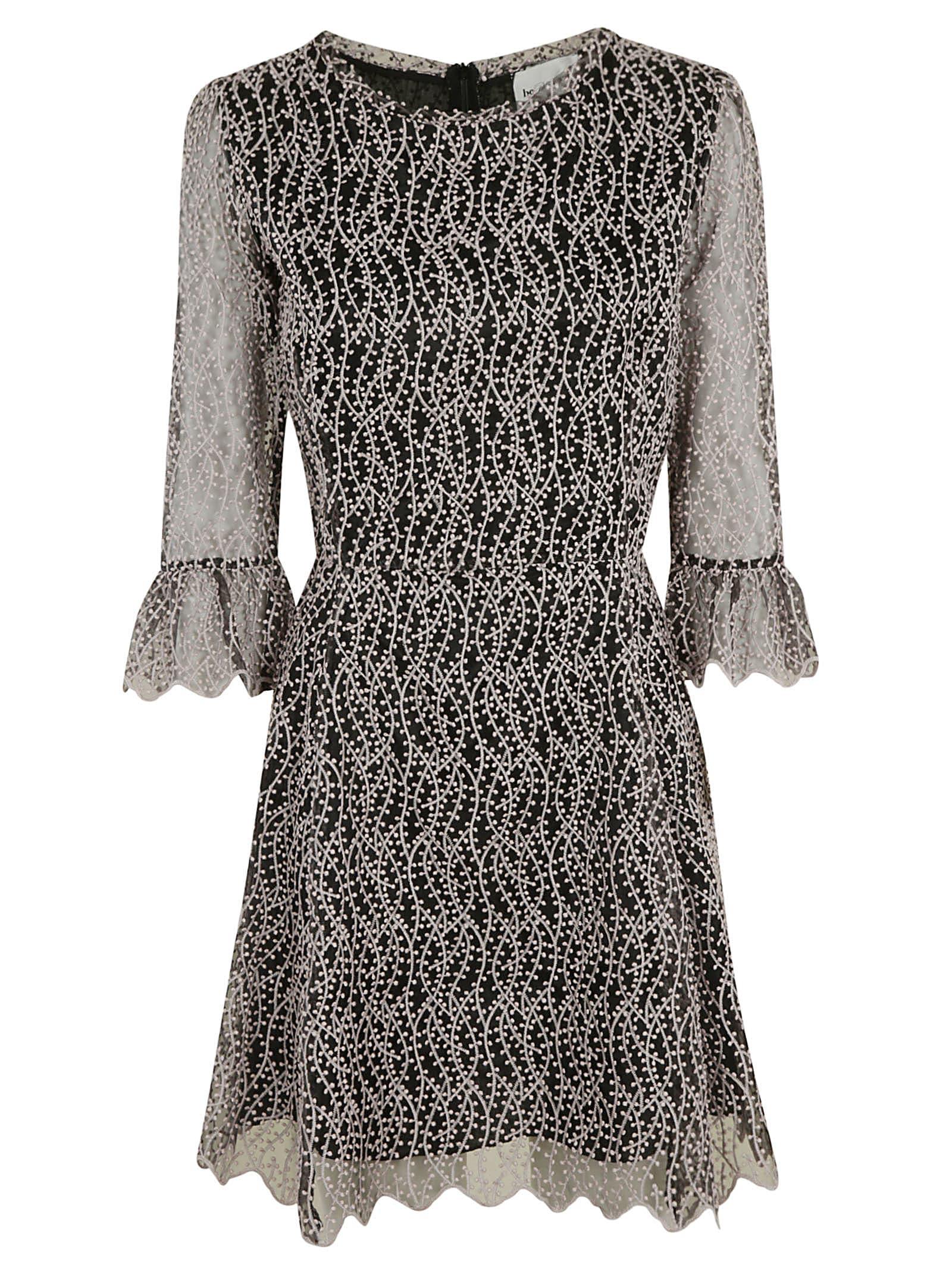 Buy Be Blumarine Lace Detail Short Dress online, shop Be Blumarine with free shipping