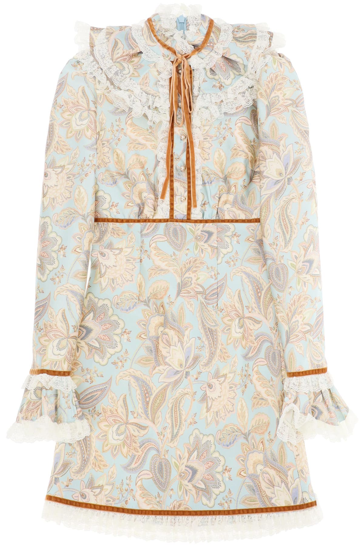 Zimmermann Ladybeetle Mini Dress With Lace