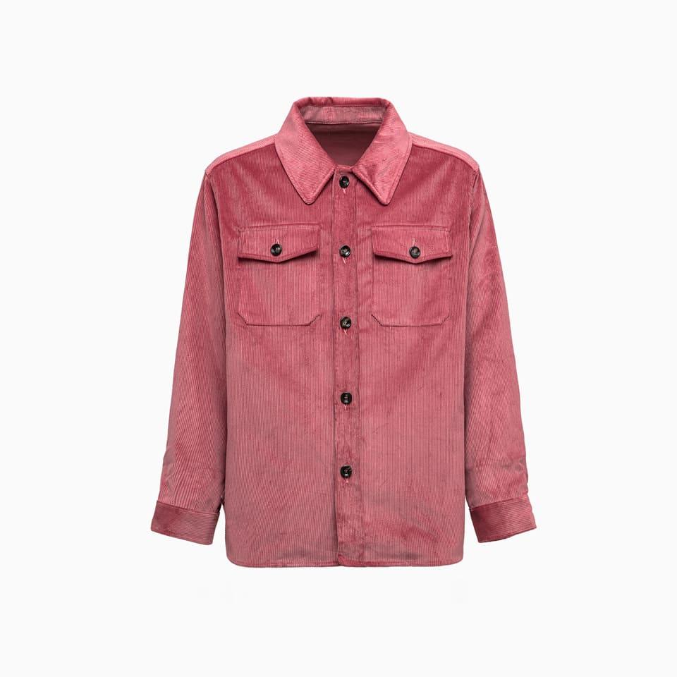 corduroy Shirt O-802