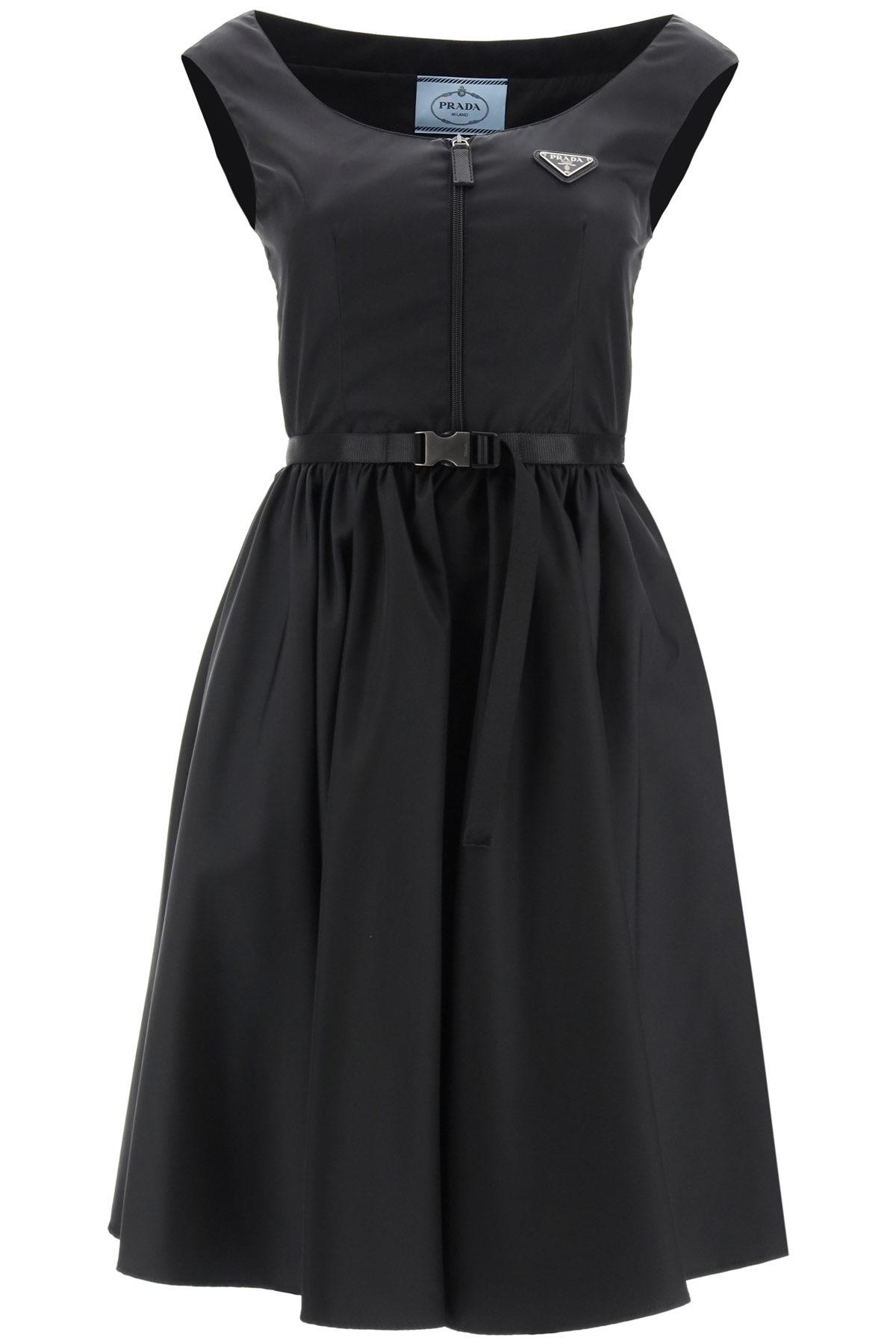 Buy Re-nylon Gabardine Dress online, shop Prada with free shipping