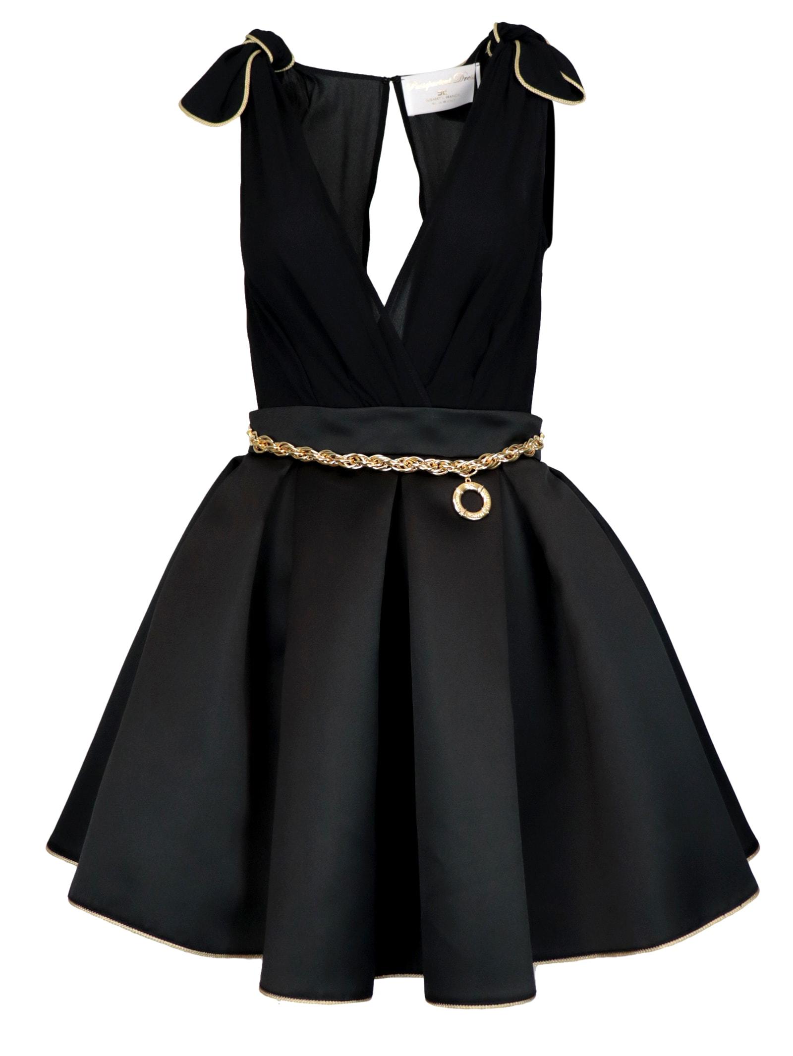 Buy Elisabetta Franchi Celyn B. Mini In Duchesse Dress online, shop Elisabetta Franchi Celyn B. with free shipping