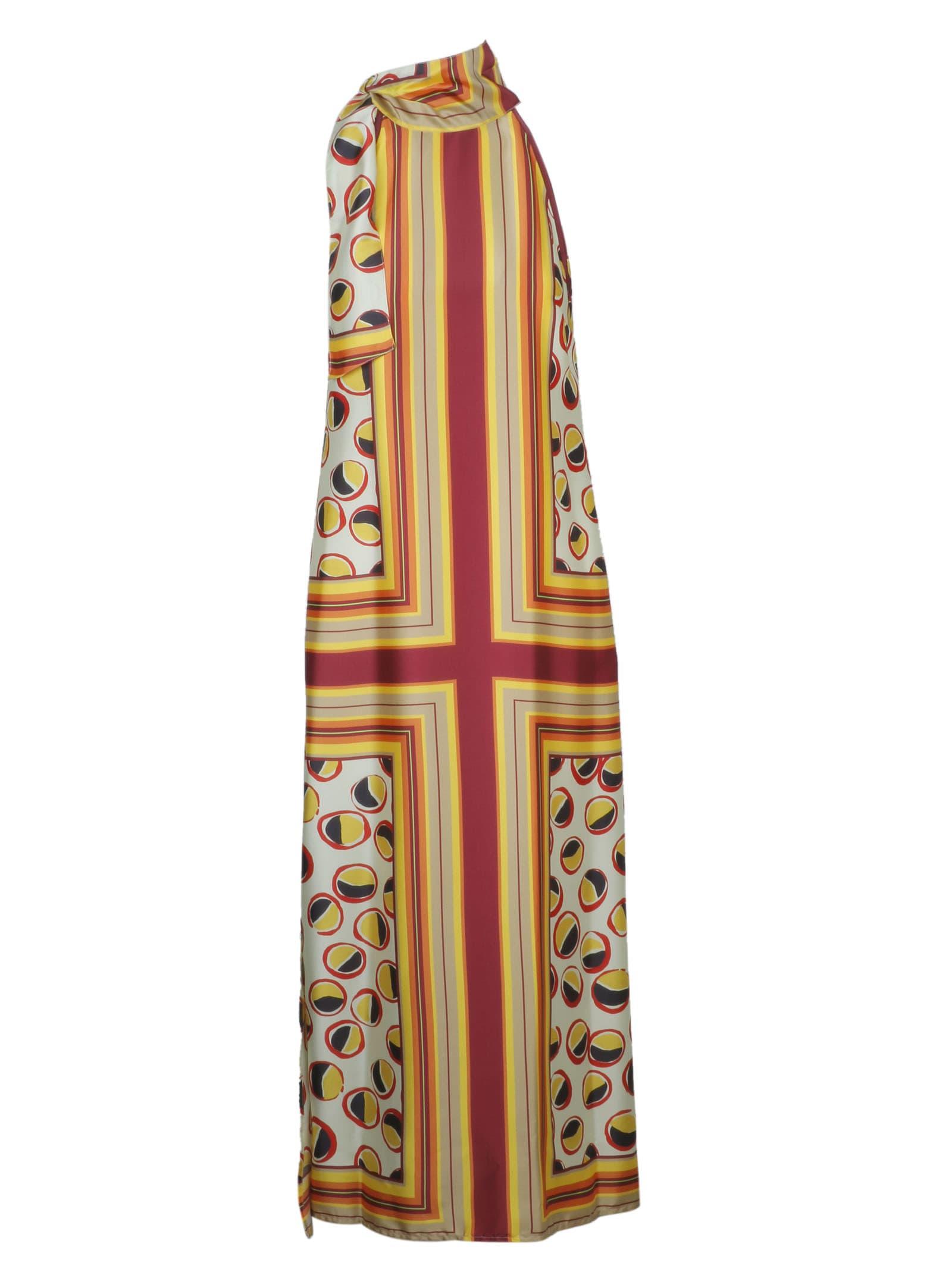 Buy Malìparmi Printed Dress online, shop Malìparmi with free shipping