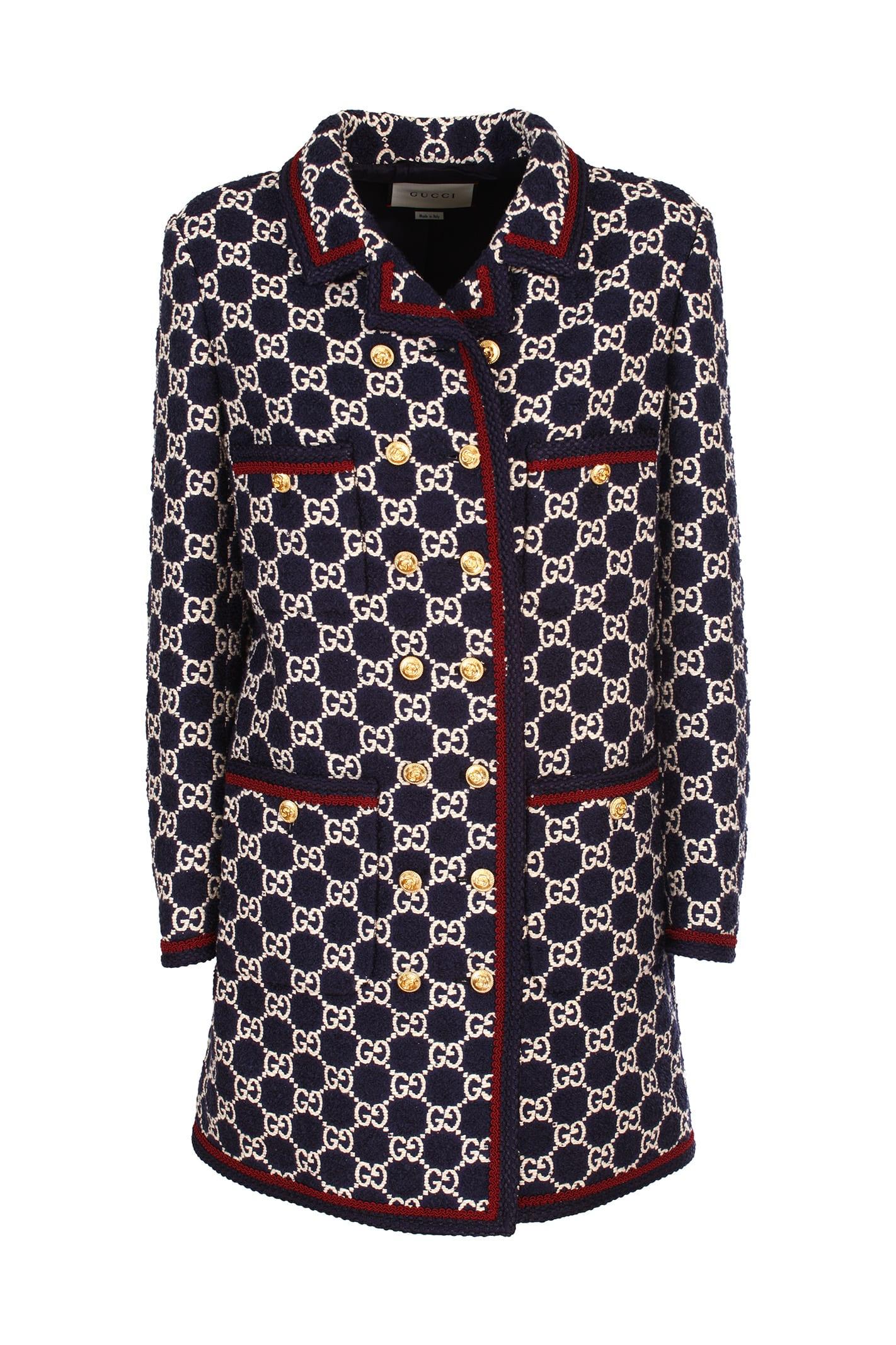 Gucci wide-cut coat