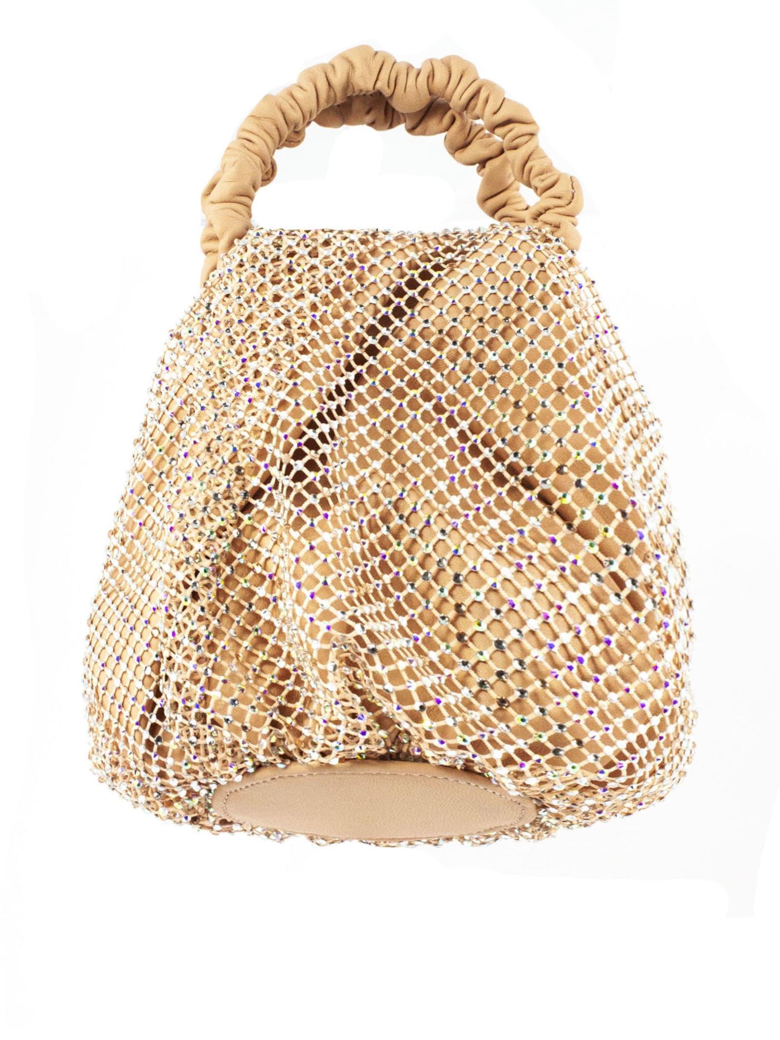 Ydra Nude Bucket Bag