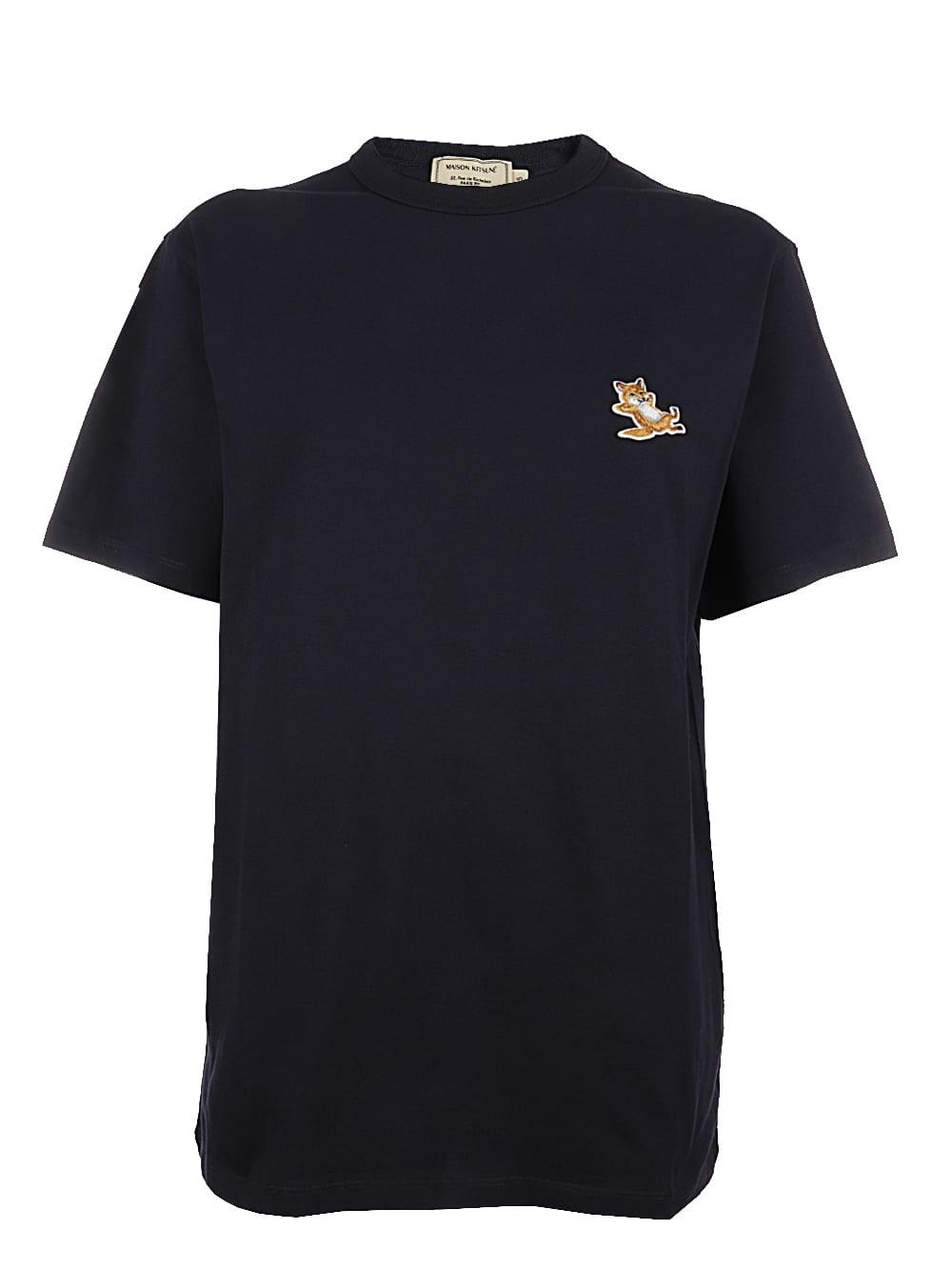 Maison Kitsuné T-shirts CHILLAX FOX PATCH CLASSIC TEE-SHIRT
