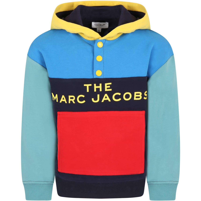 Multicolor Sweatshirt For Boy With Logo