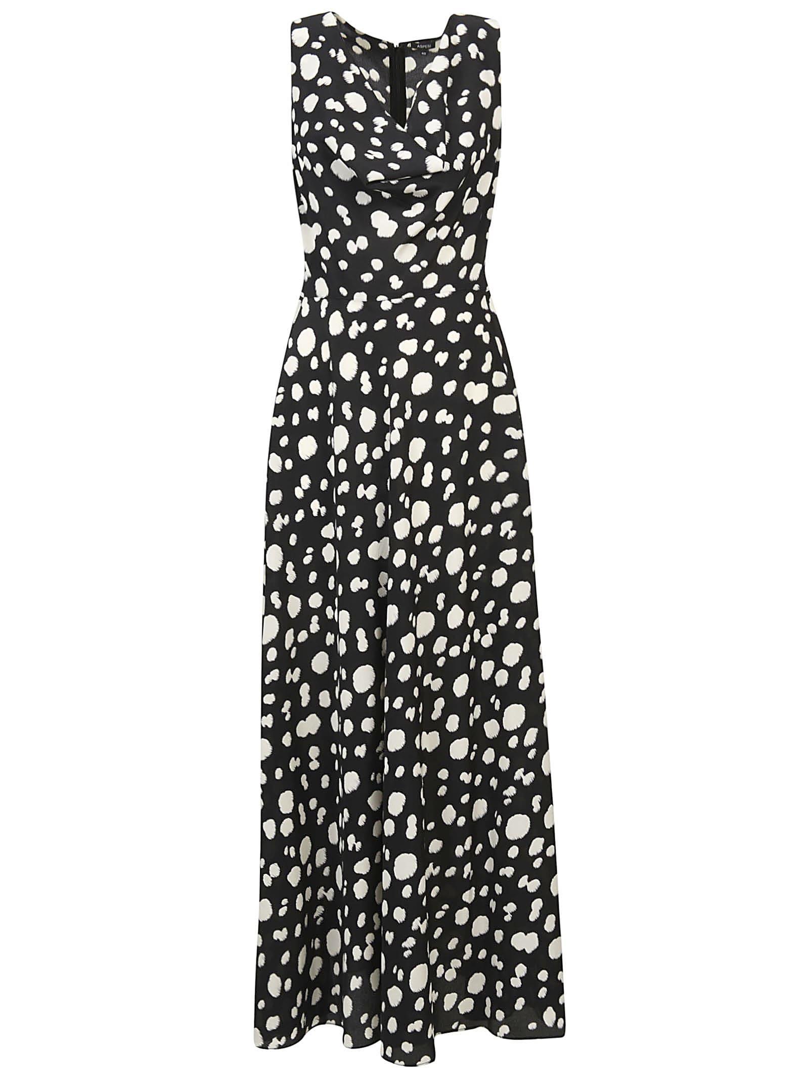 Buy Aspesi Flared Sleeveless Maxi Dress online, shop Aspesi with free shipping