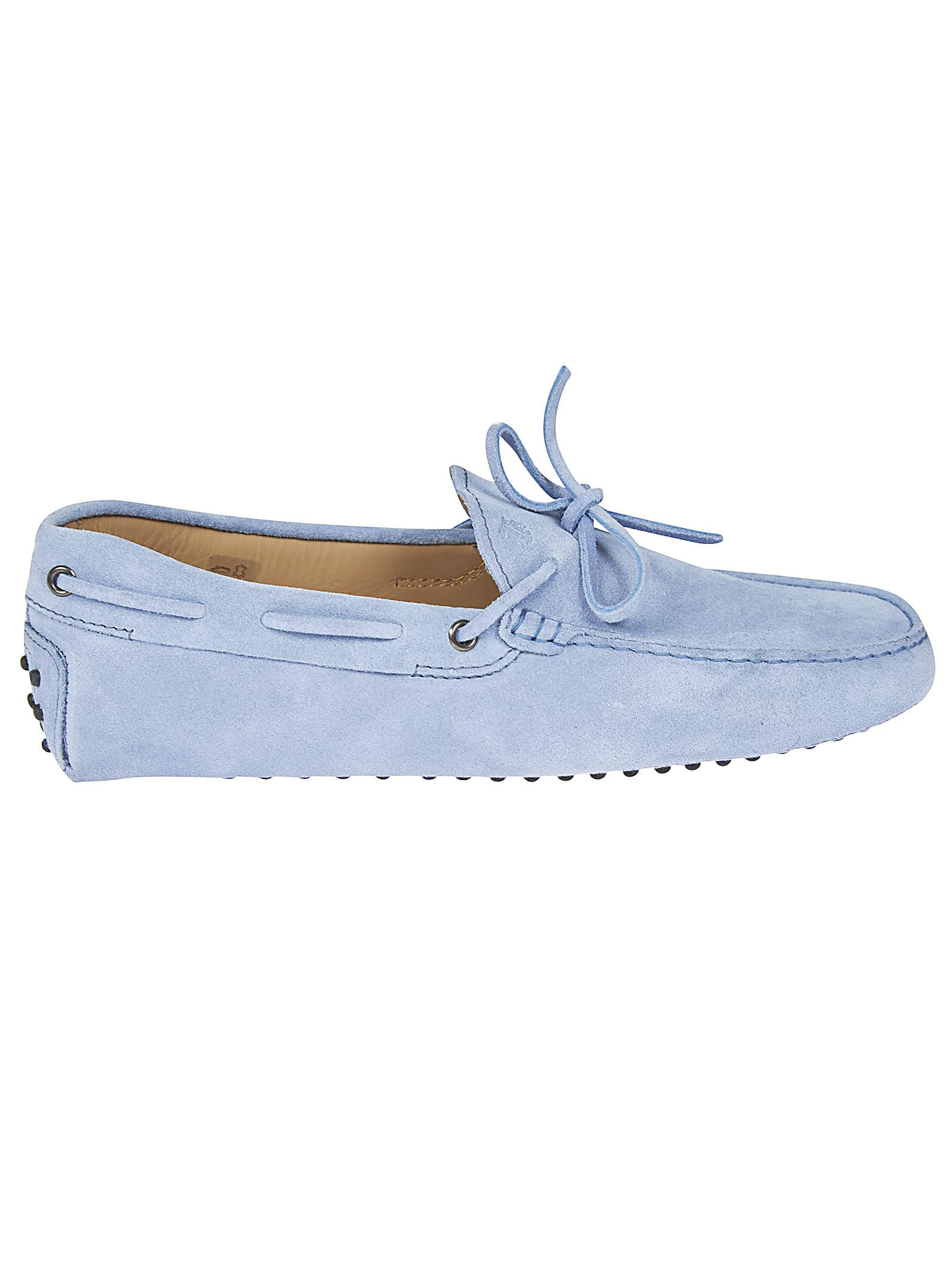 Tods Classic Lace Detail Loafers