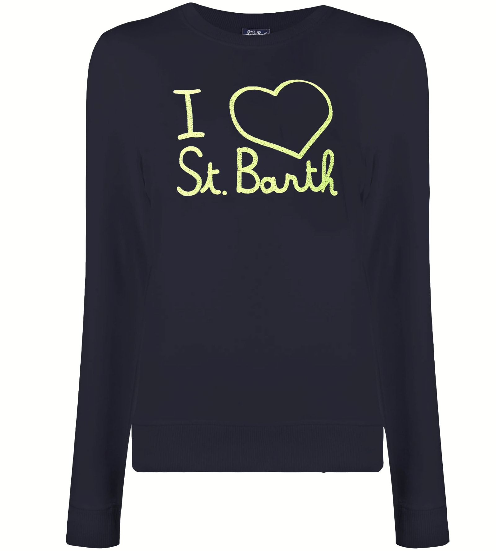 MC2 Saint Barth I Love St. Barth Embroidered Sweater