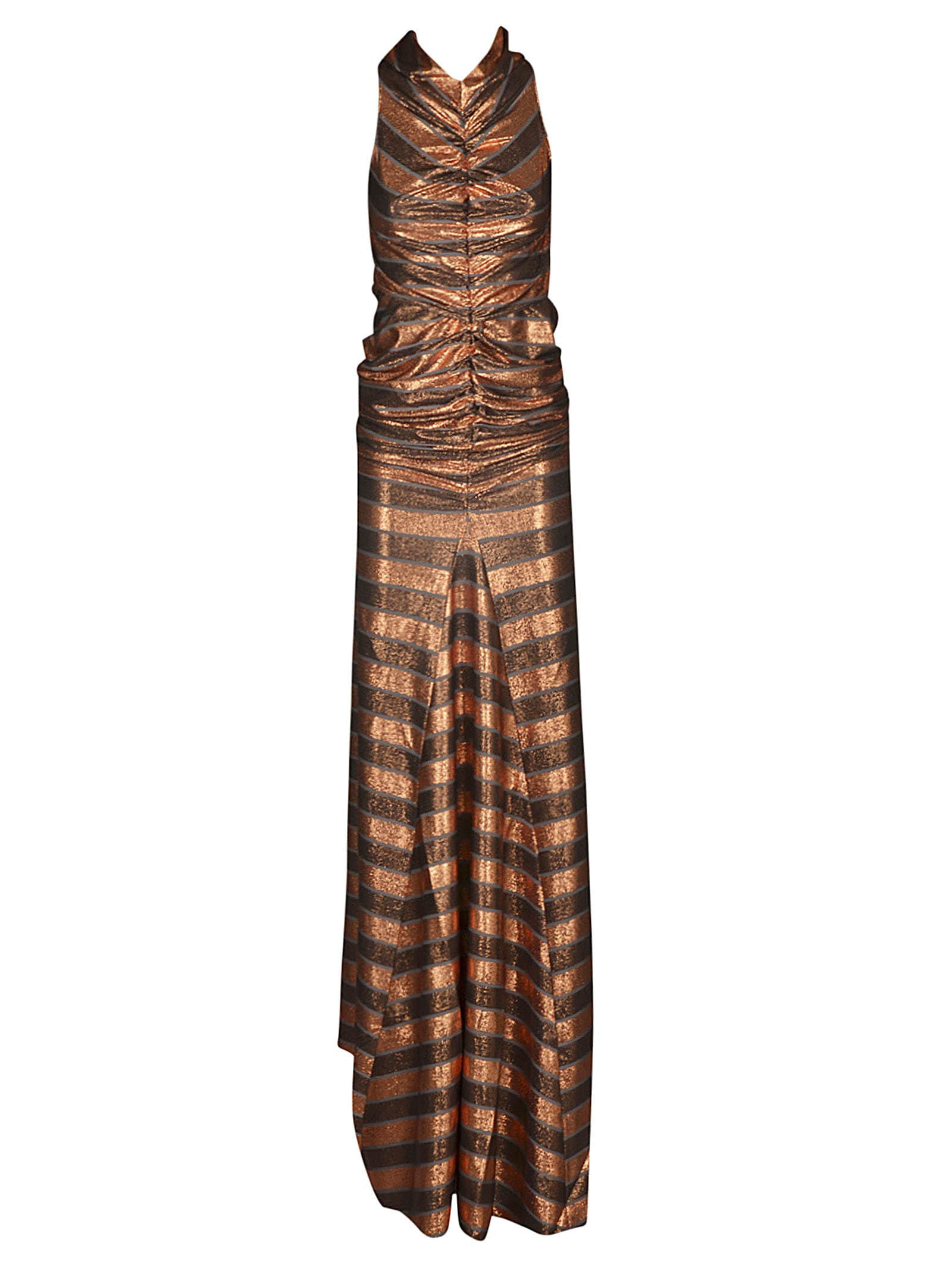 Buy Rick Owens Lilies Striped Maxi Dress online, shop Rick Owens Lilies with free shipping