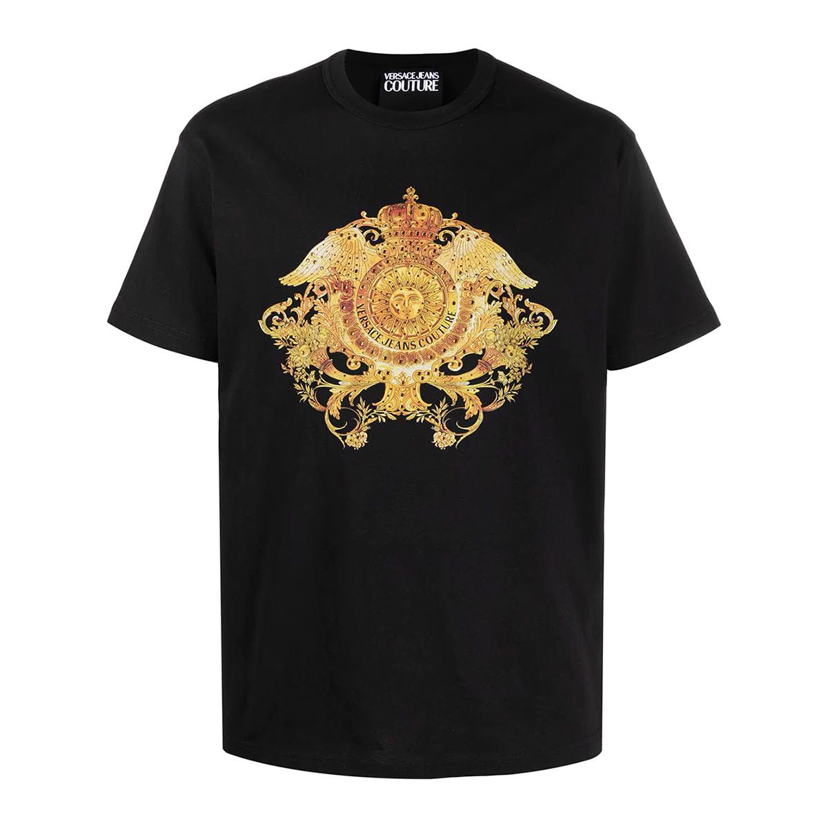 Versace Jeans Couture Jeans VERSACE T-SHIRT NERA UOMO